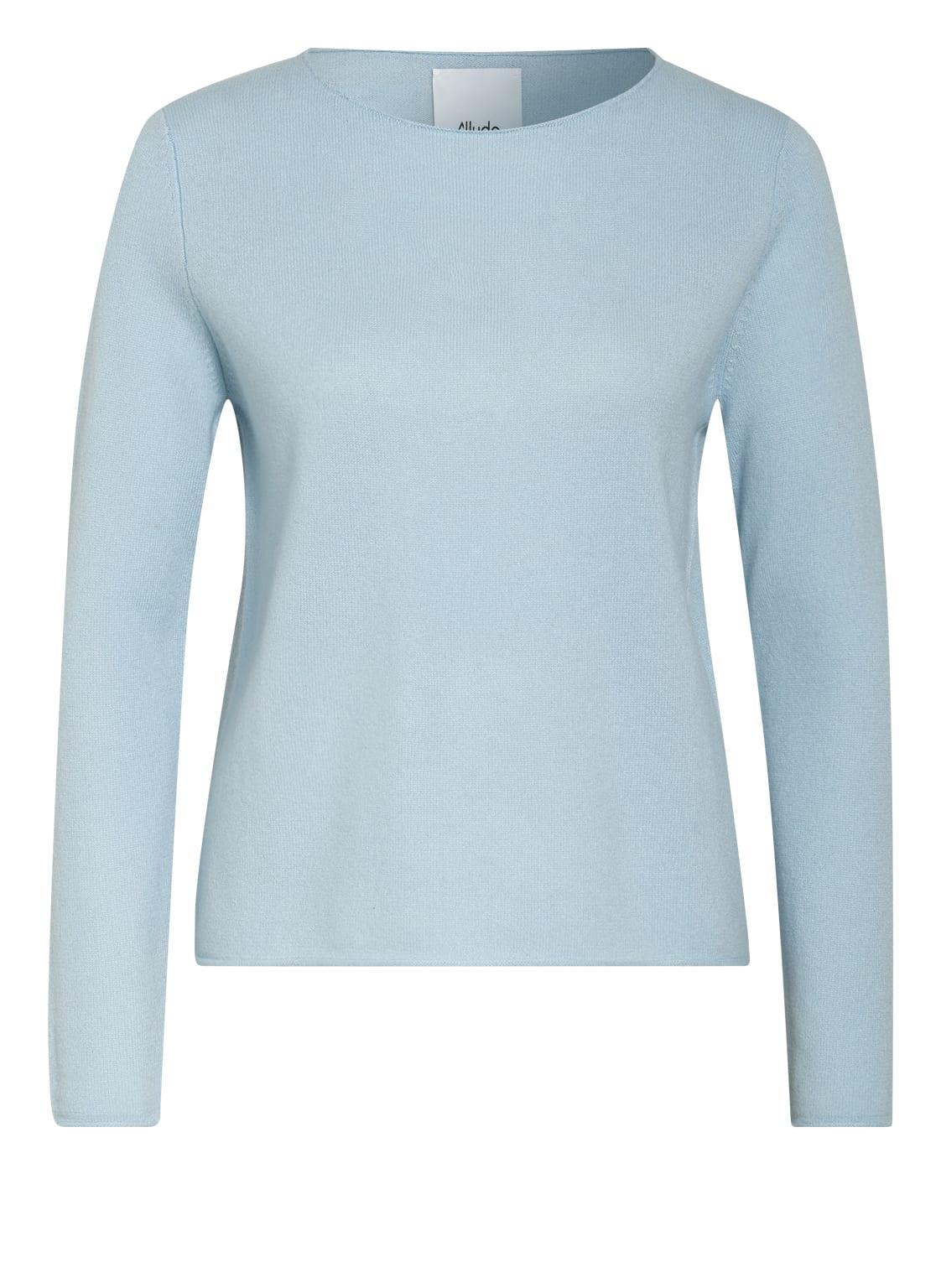 Image of Allude Cashmere-Pullover blau