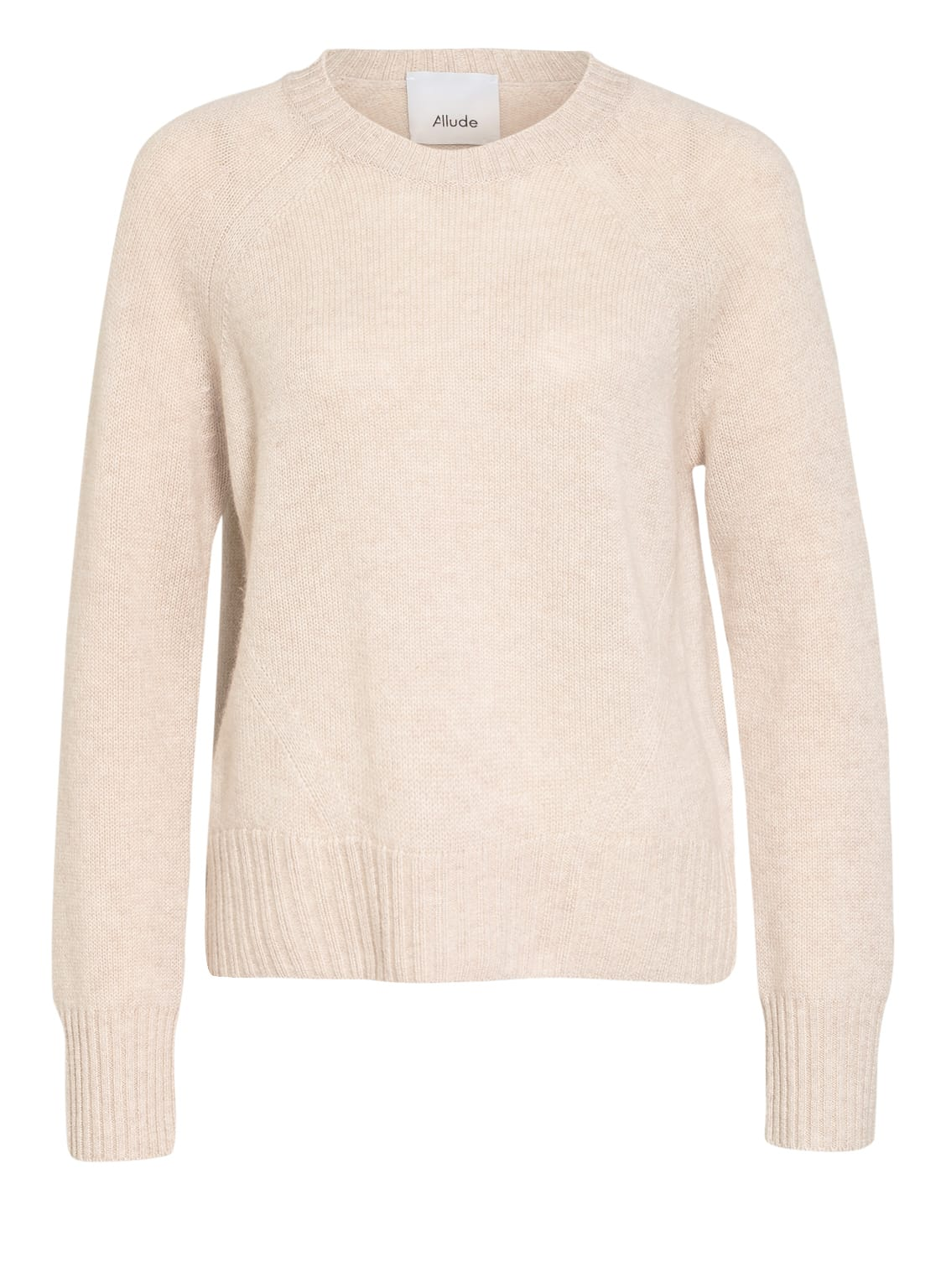 Image of Allude Cashmere-Pullover beige