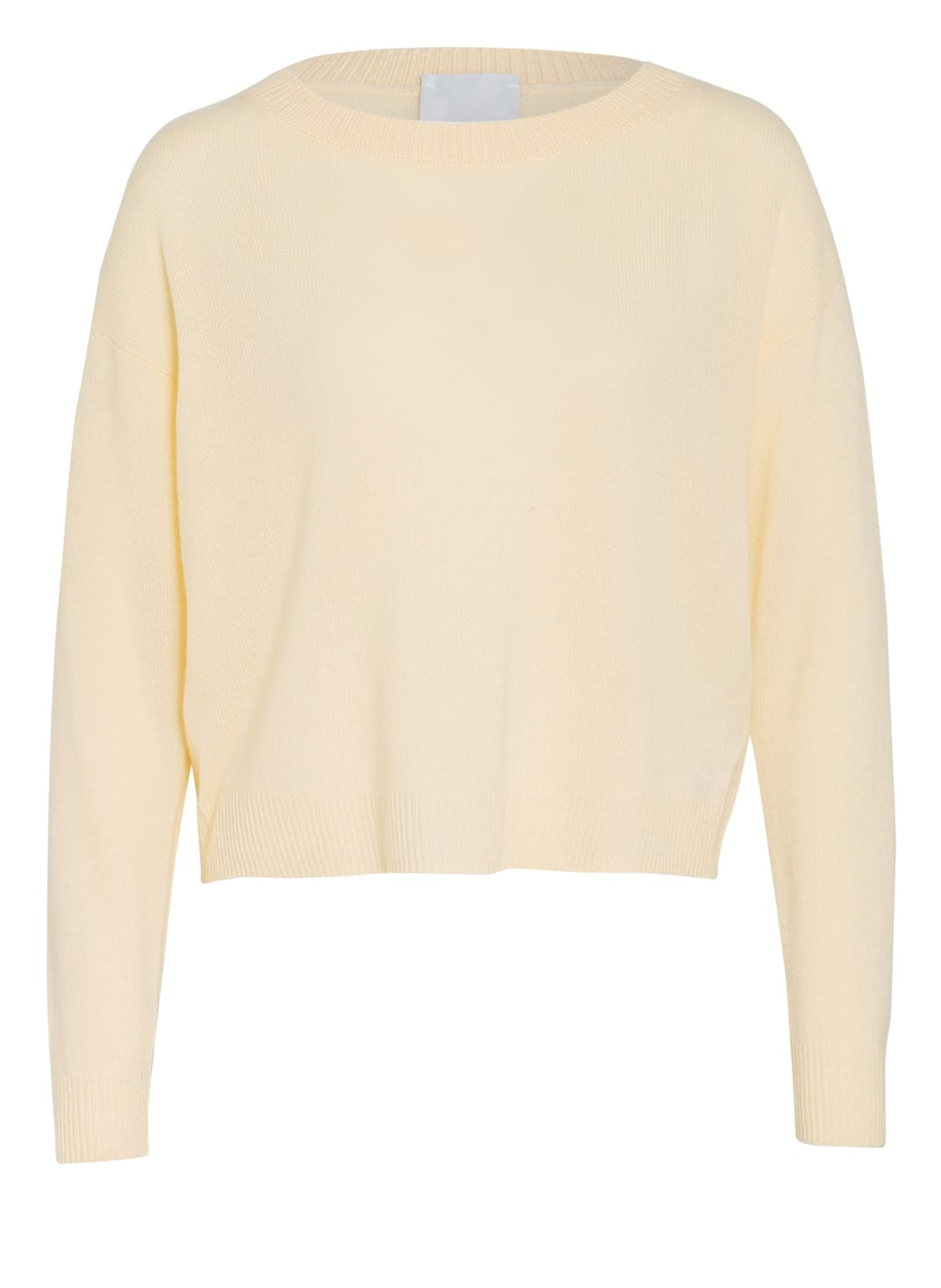 Image of Allude Cashmere-Pullover gelb