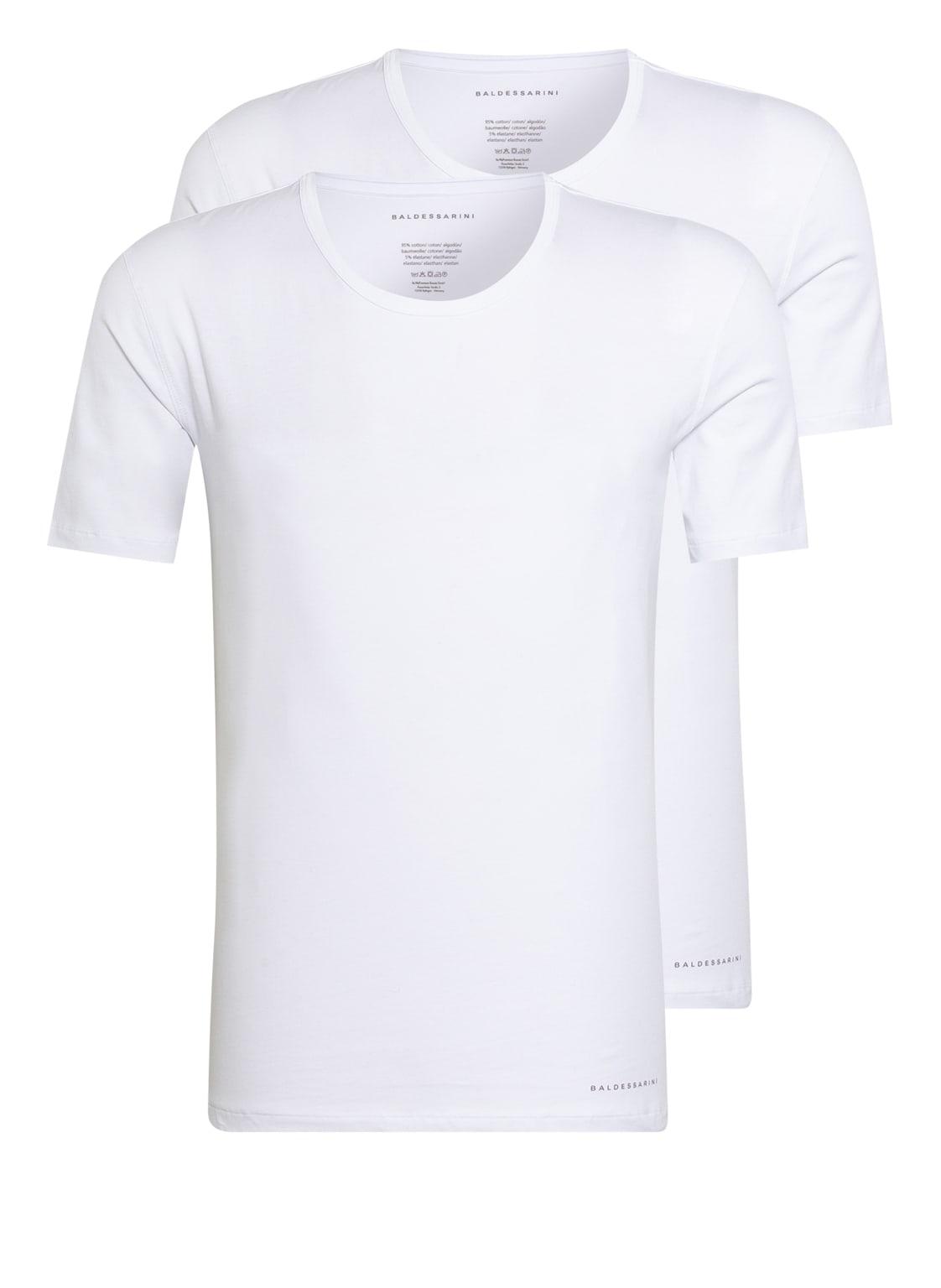 Image of Baldessarini 2er-Pack T-Shirts weiss