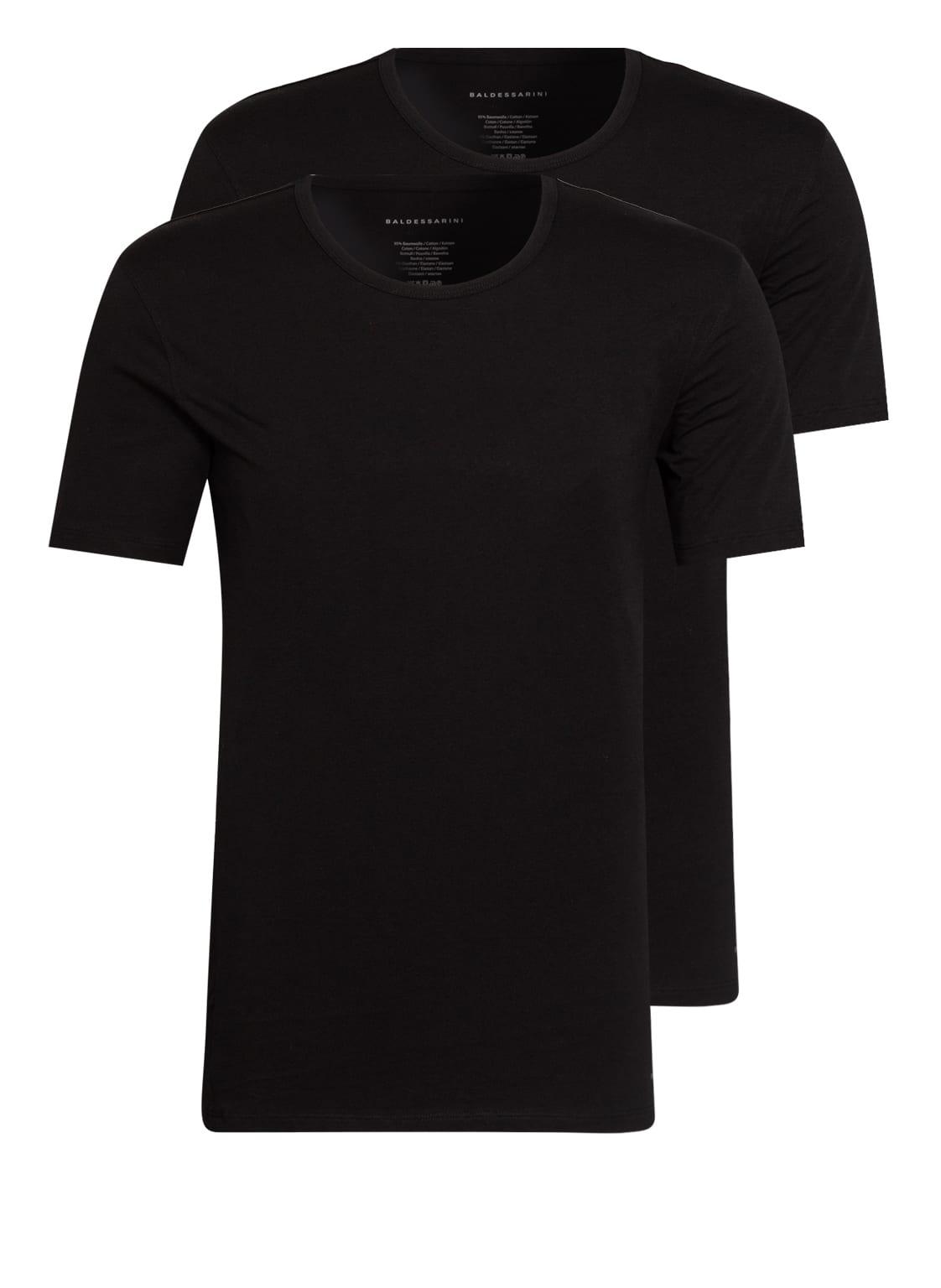 Image of Baldessarini 2er-Pack T-Shirts schwarz
