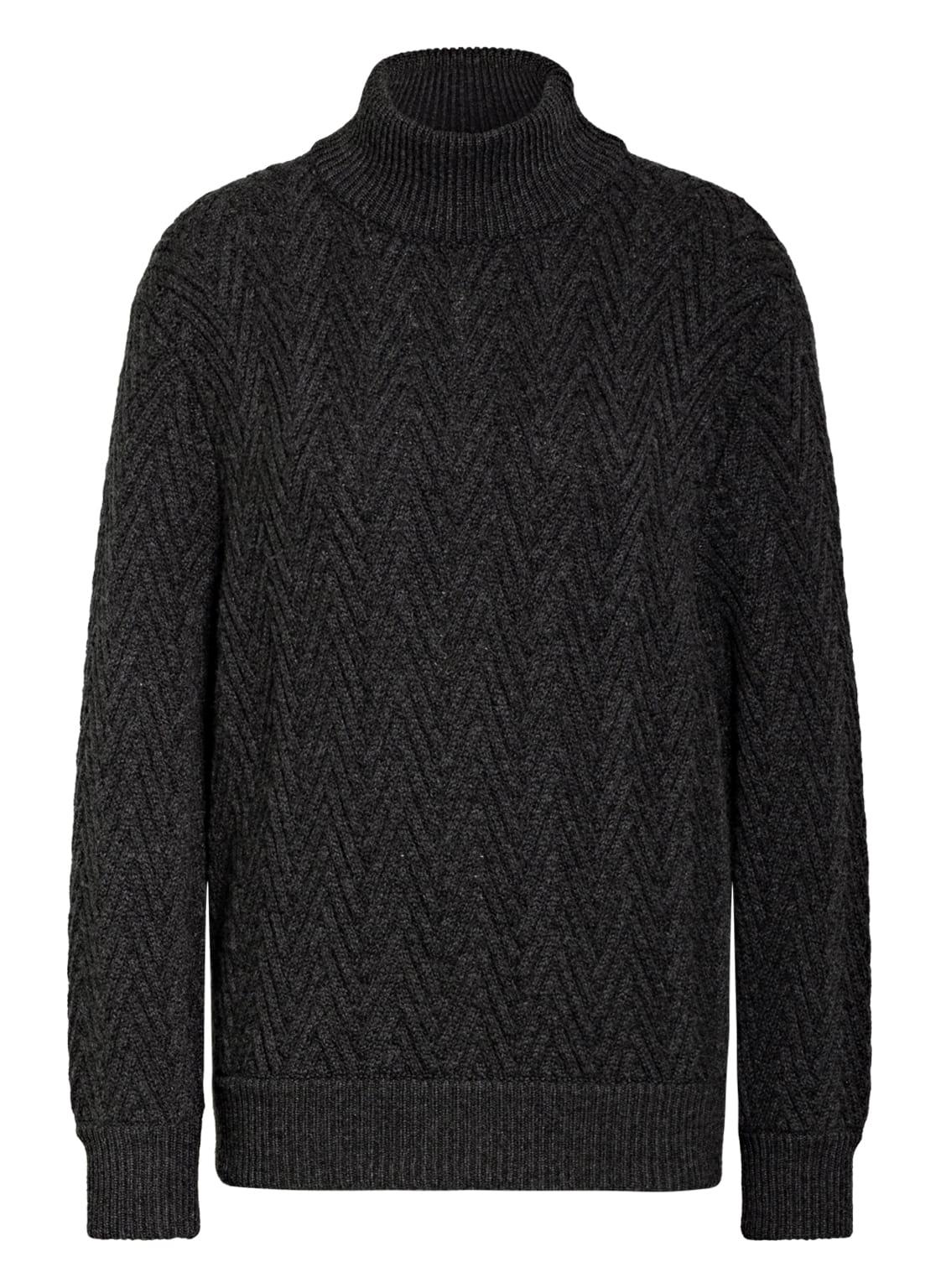 Image of Agnona Cashmere-Pullover grau
