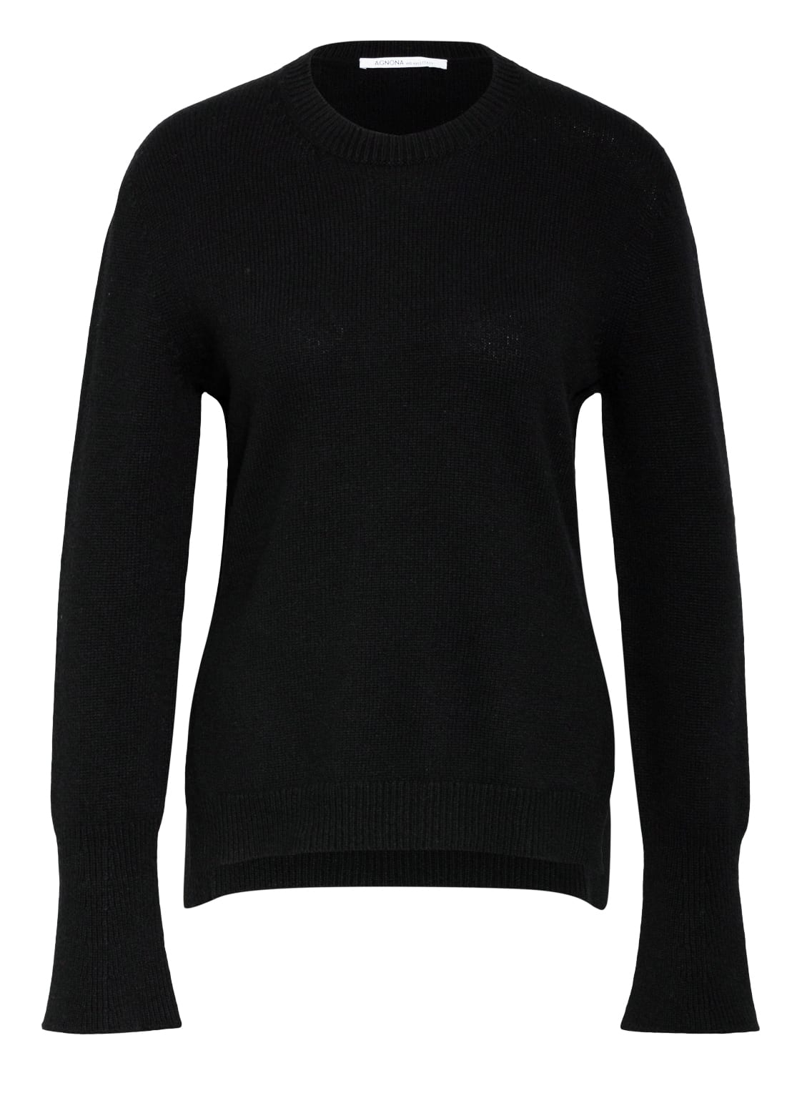 Image of Agnona Cashmere-Pullover schwarz
