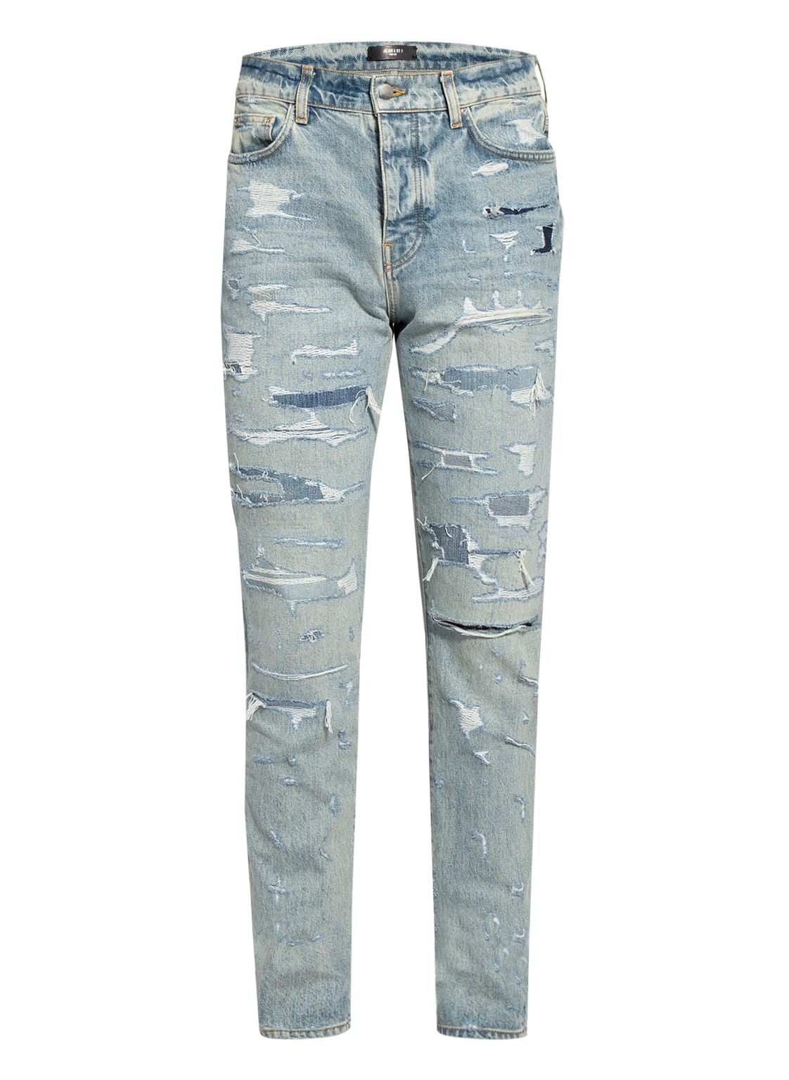 Image of Amiri Jeans Bruise Relaxed Fit blau
