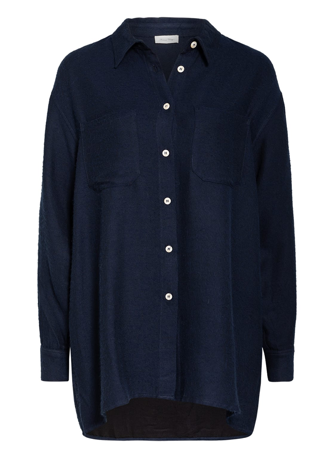 Image of American Vintage Hemdbluse blau