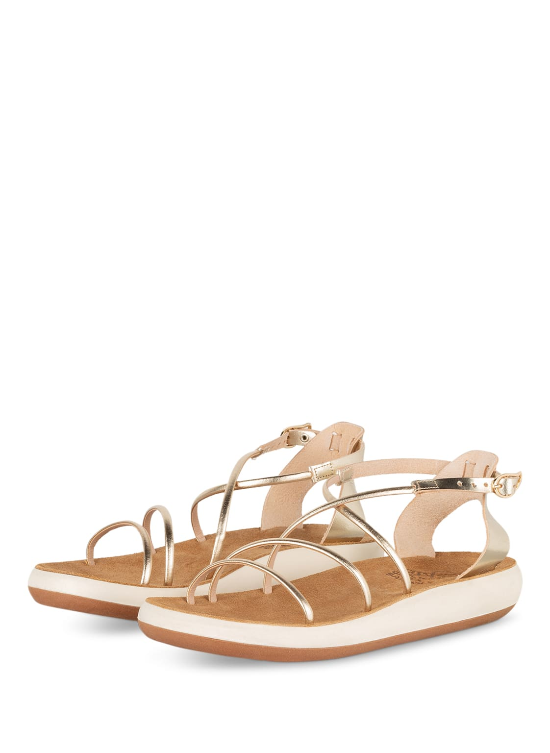 Image of Ancient Greek Sandals Sandalen Anastasia Comfort gold