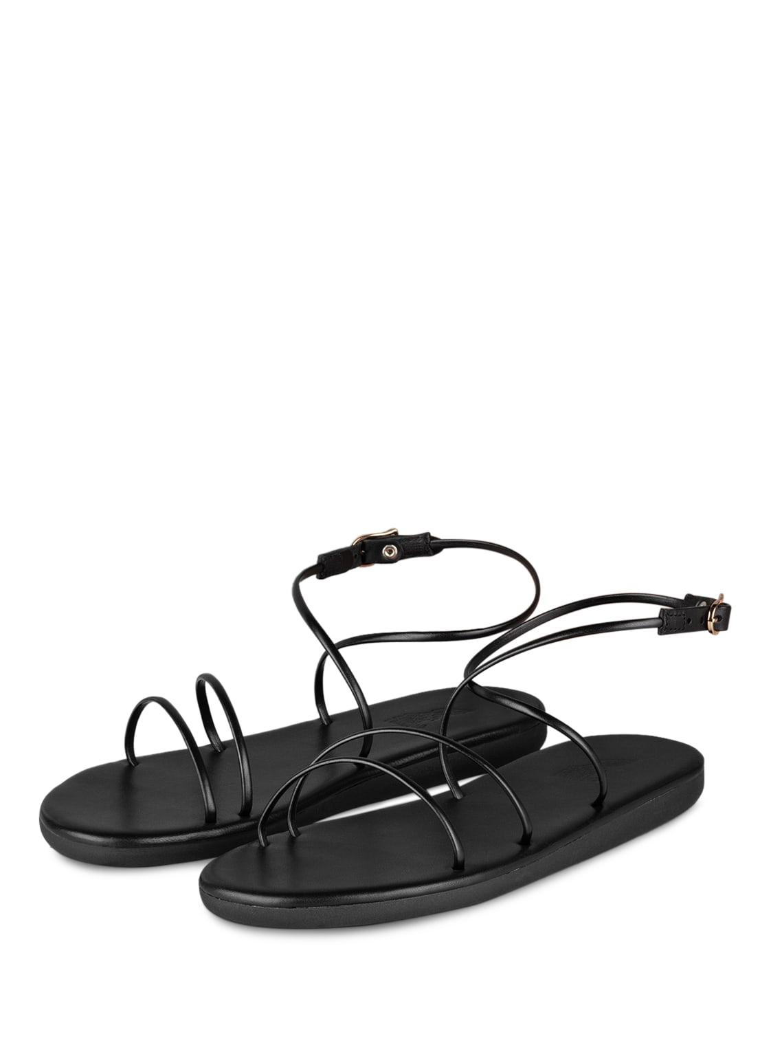 Image of Ancient Greek Sandals Sandalen Angel schwarz