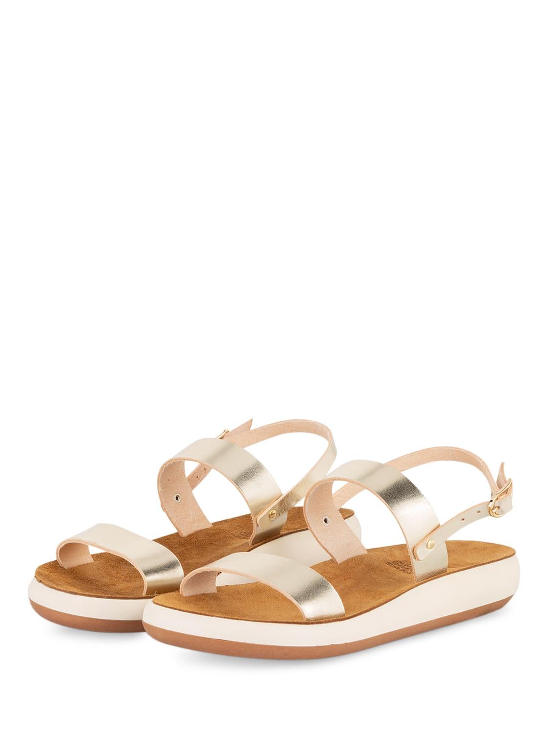 Image of Ancient Greek Sandals Sandalen Clio Comfort gold