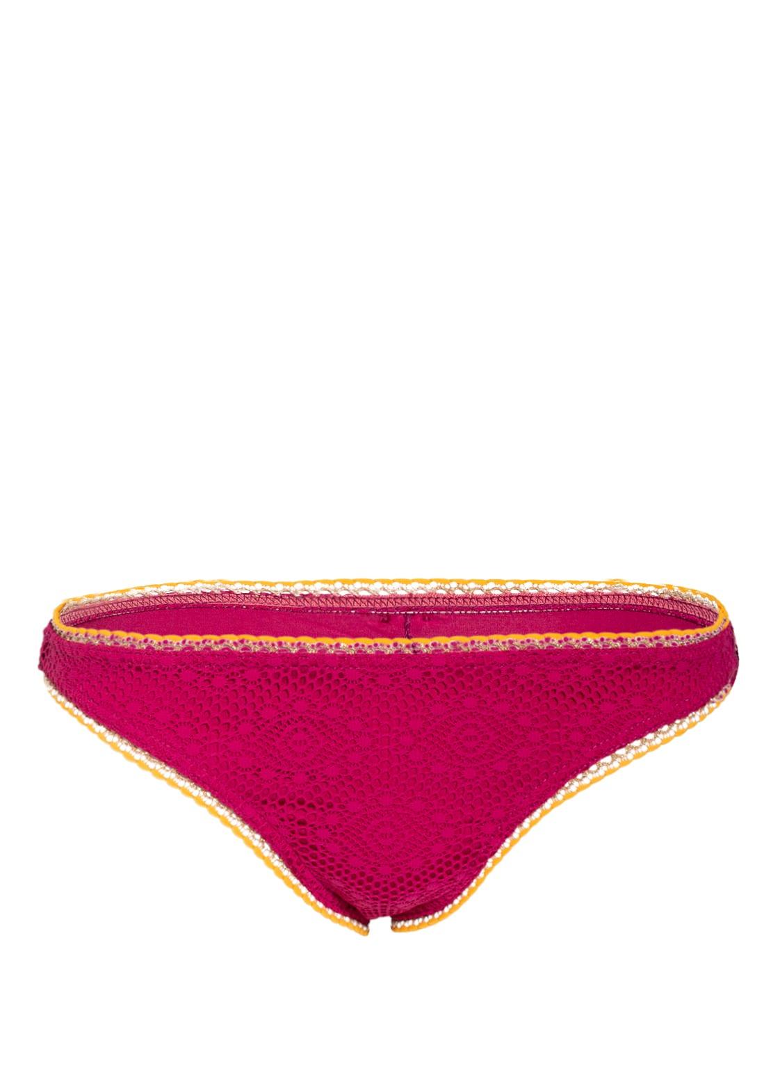 Image of Banana Moon Couture Bikini-Hose Crochet Breeda Mit Glitzergarn rot