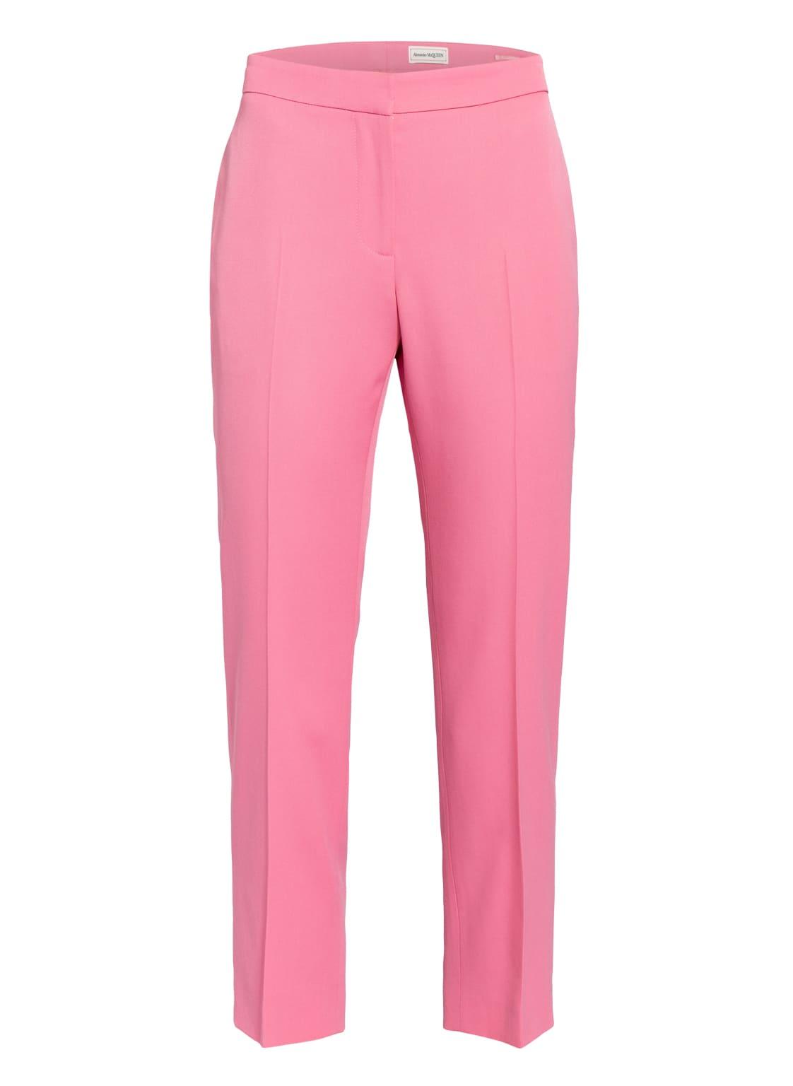 Image of Alexander Mcqueen 7/8-Hose pink