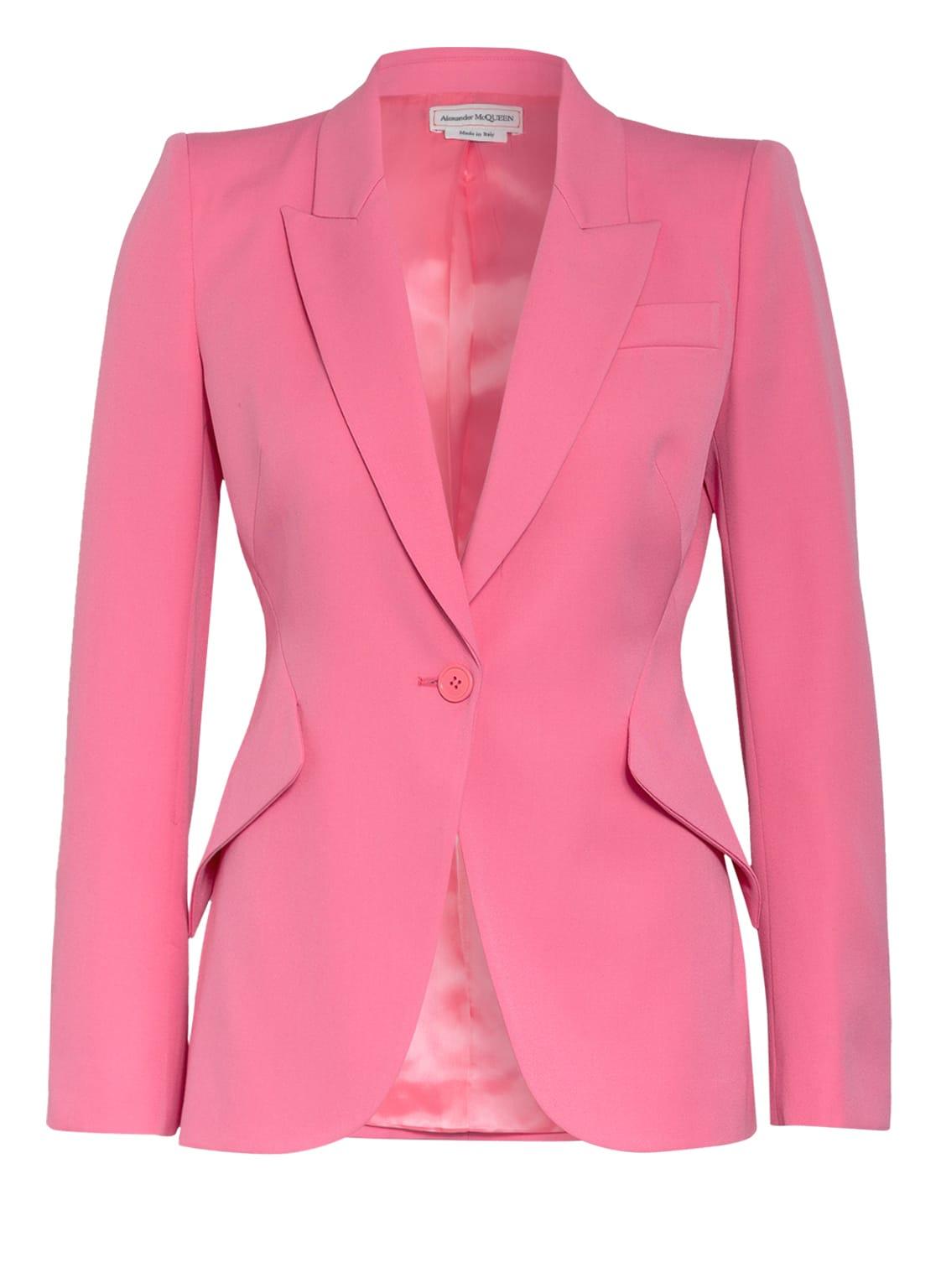 Image of Alexander Mcqueen Blazer pink