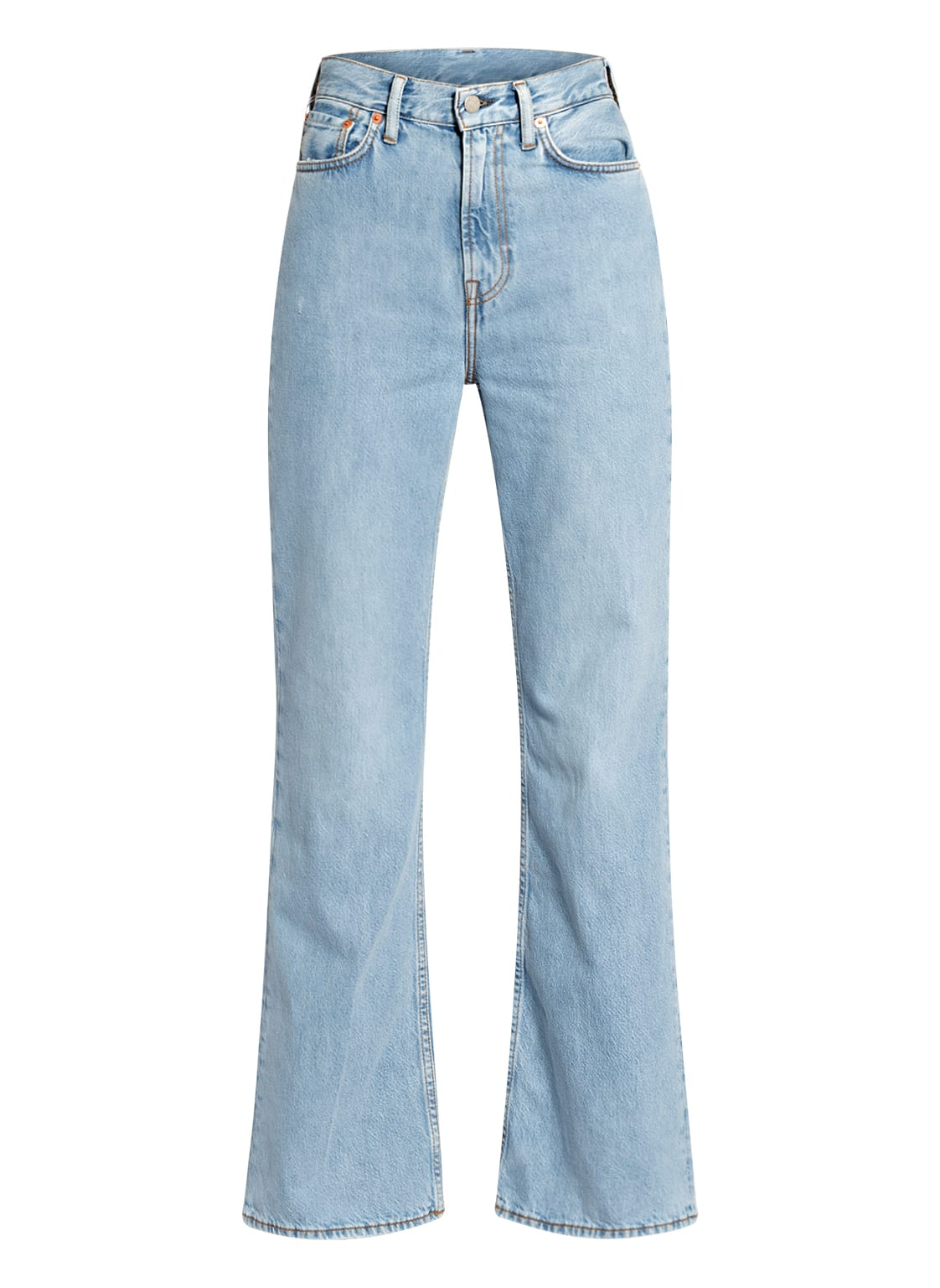 Image of Acne Studios Flared Jeans blau