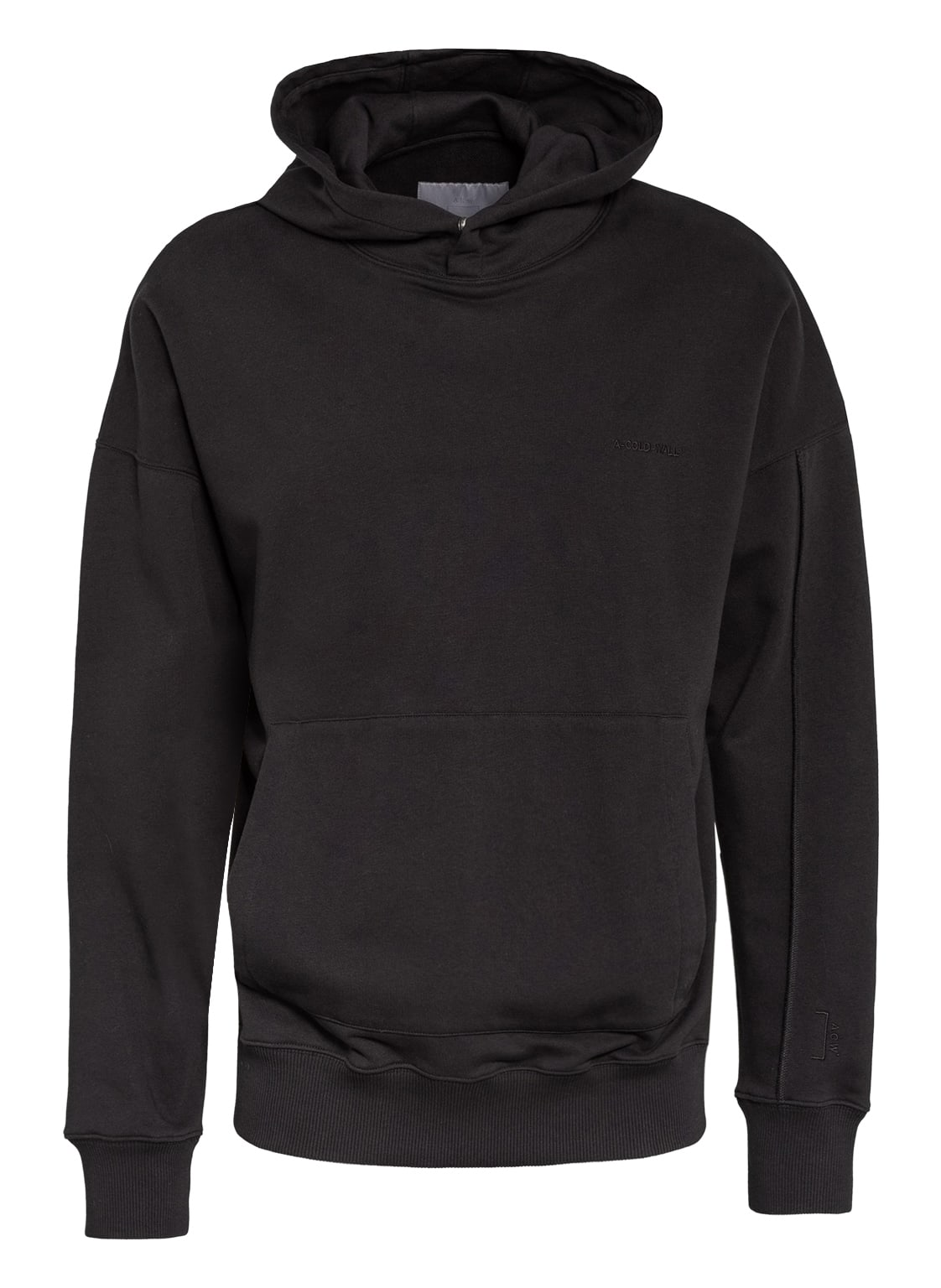 Image of A-Cold-Wall* Oversized-Hoodie schwarz