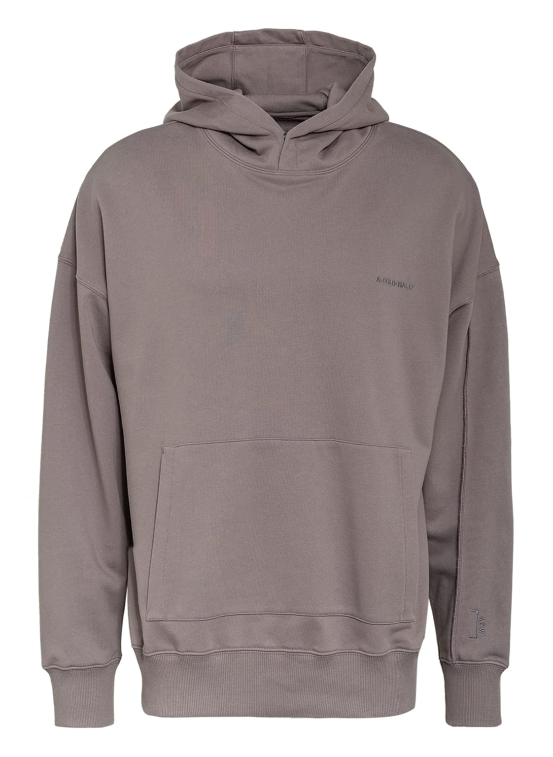 Image of A-Cold-Wall* Oversized-Hoodie grau