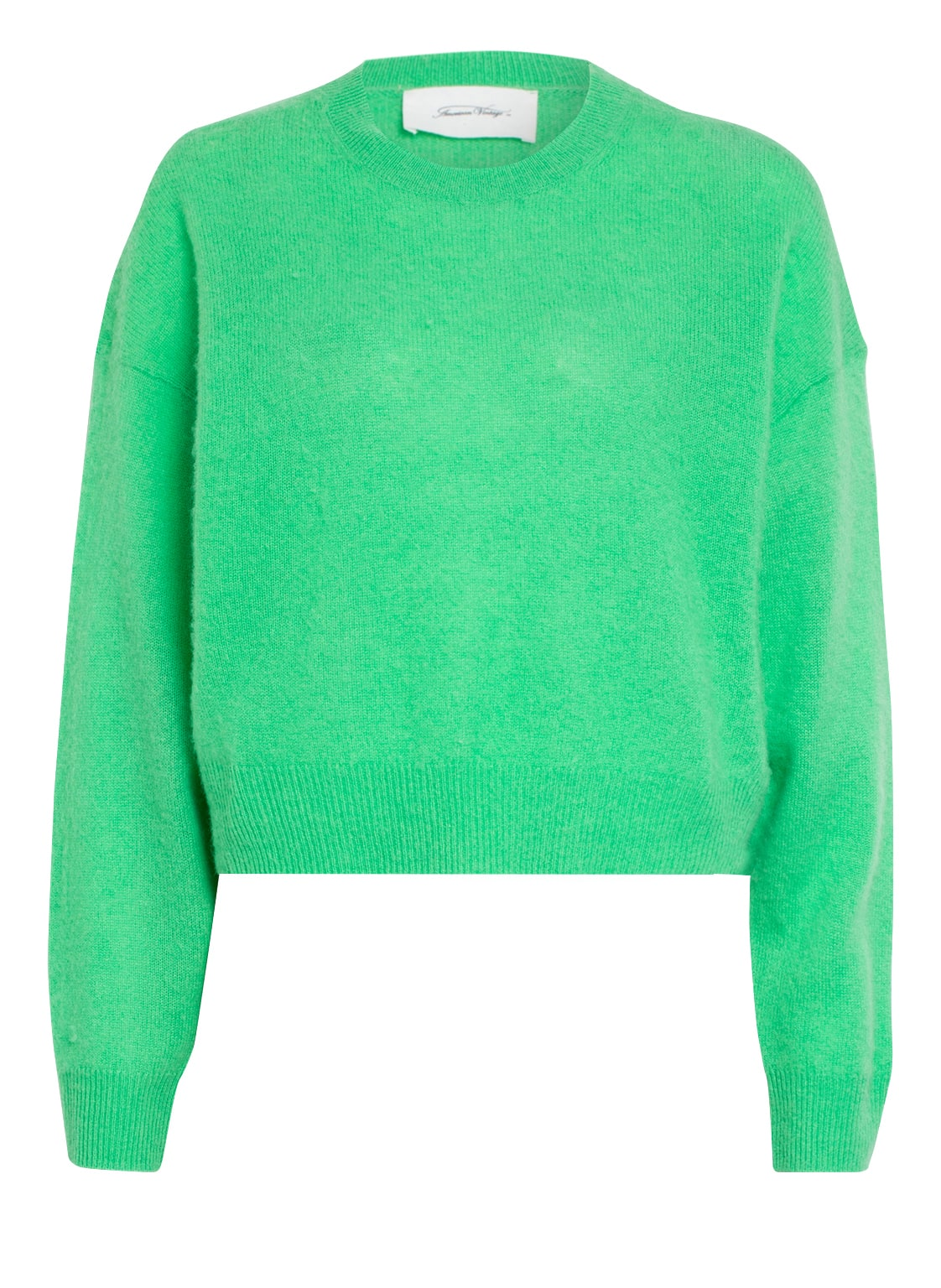 Image of American Vintage Cashmere-Pullover gruen