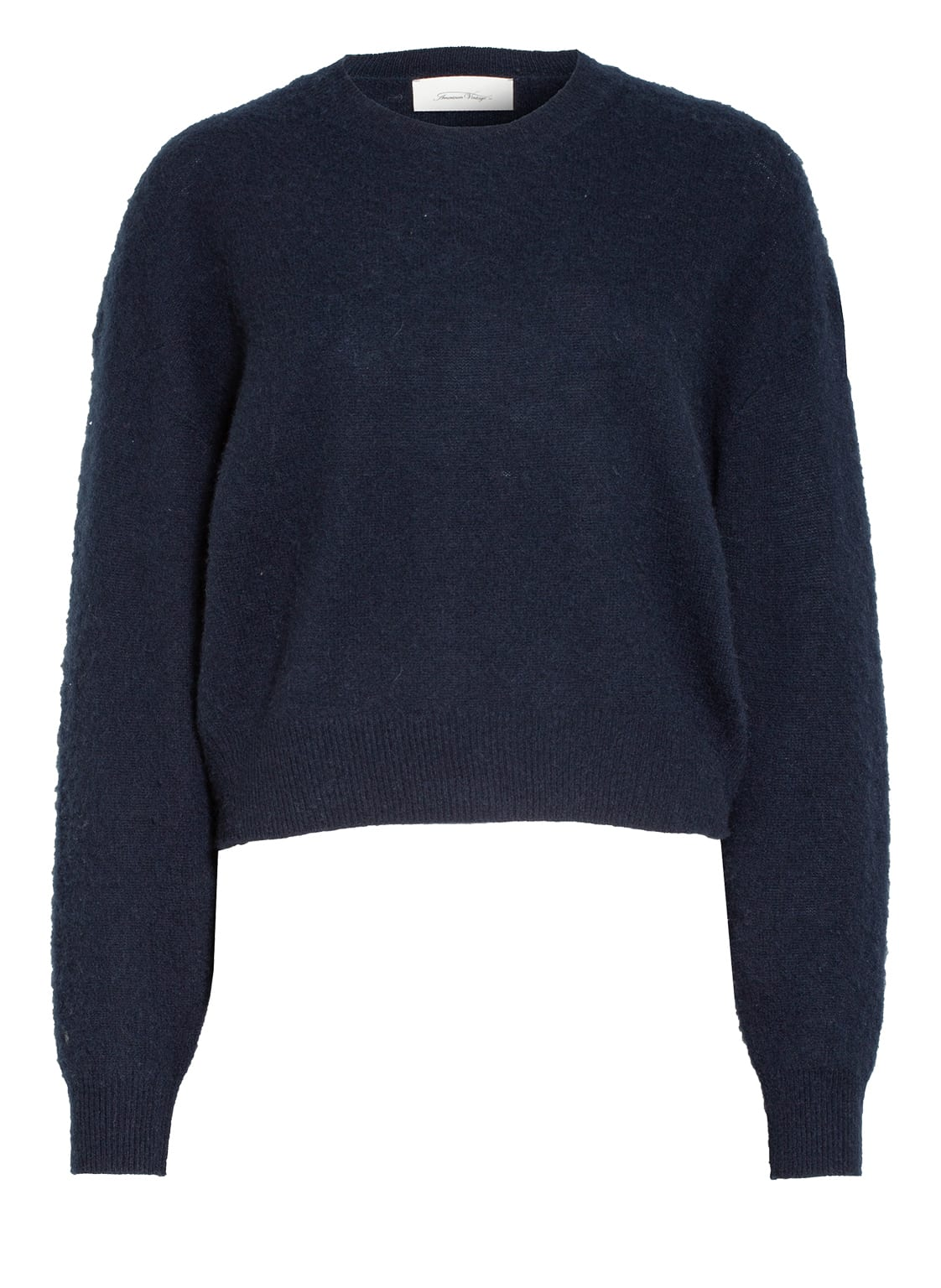Image of American Vintage Cashmere-Pullover Koptown schwarz
