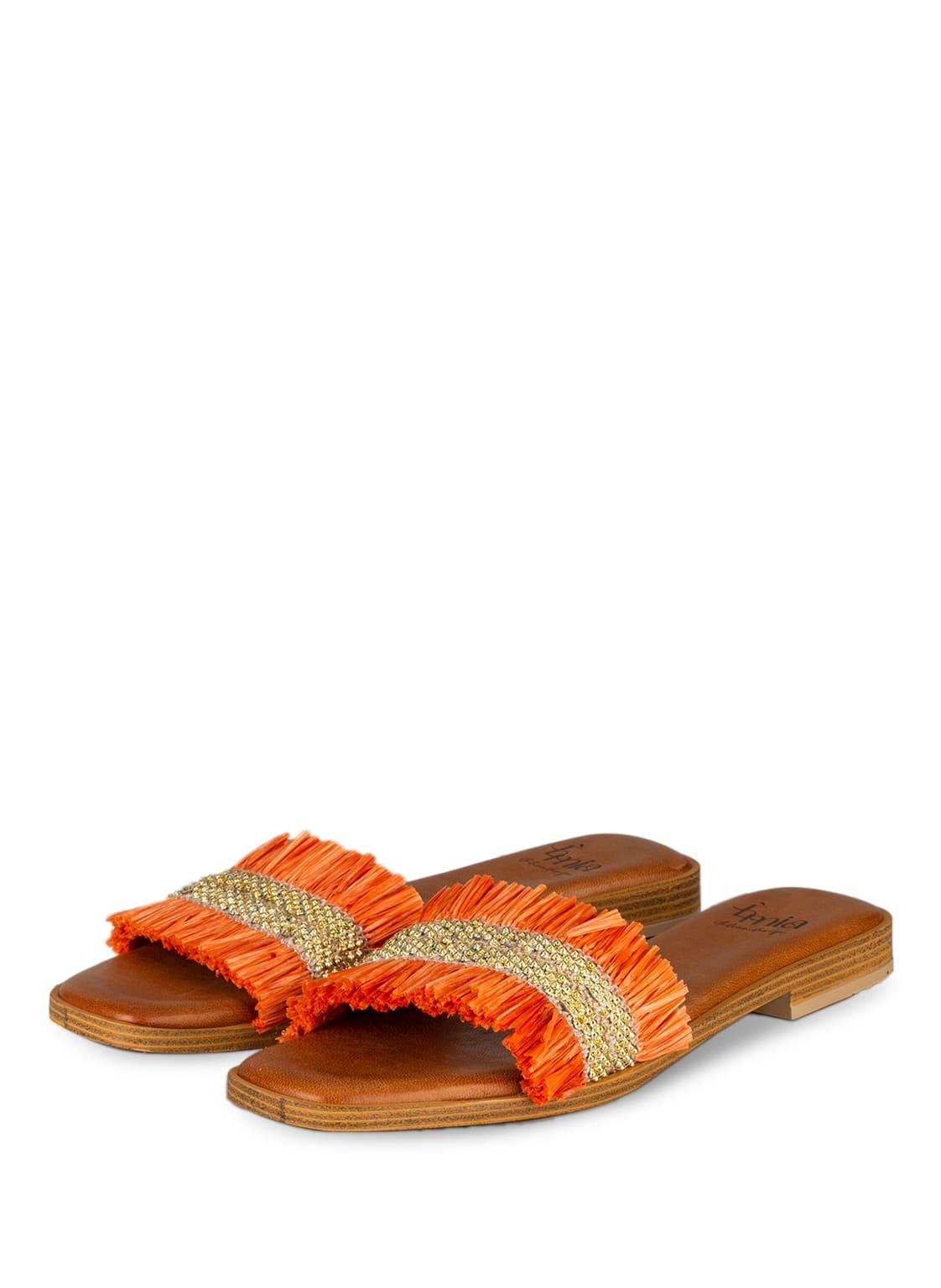 Image of È Mia Pantoletten orange