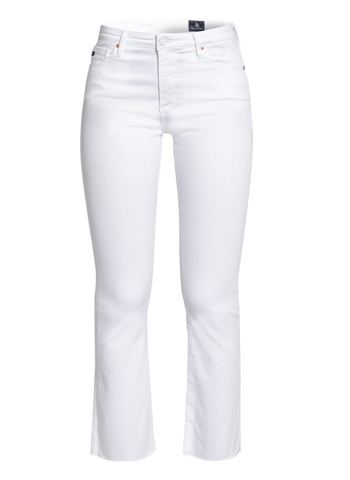 Image of Ag Jeans 7/8-Jeans The Jodi Crop weiss