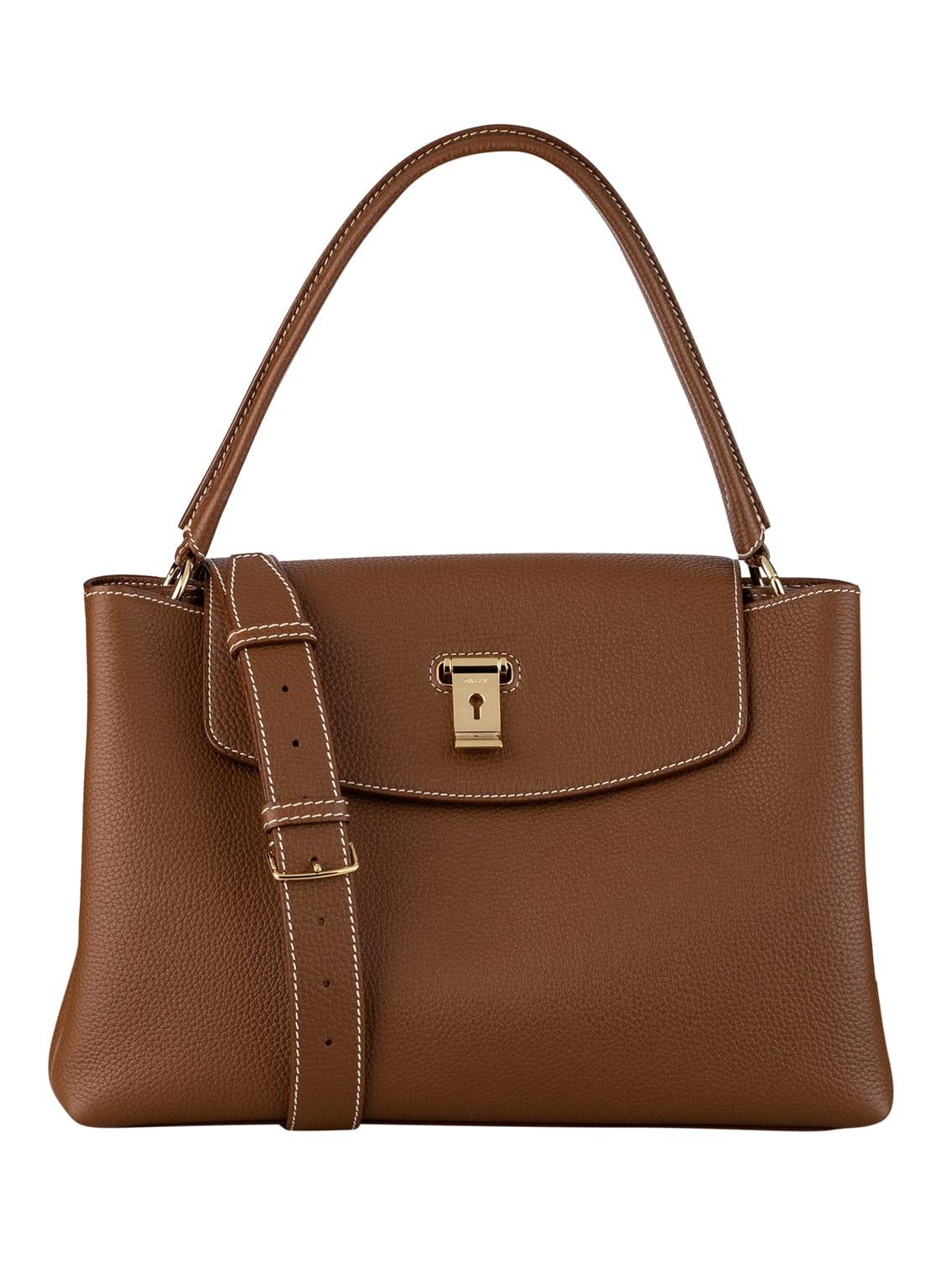 Image of Bally Handtasche Layka braun