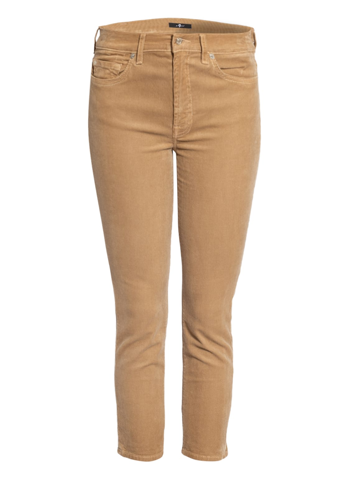Image of 7 For All Mankind 7/8-Cordhose Roxanne Ankle beige