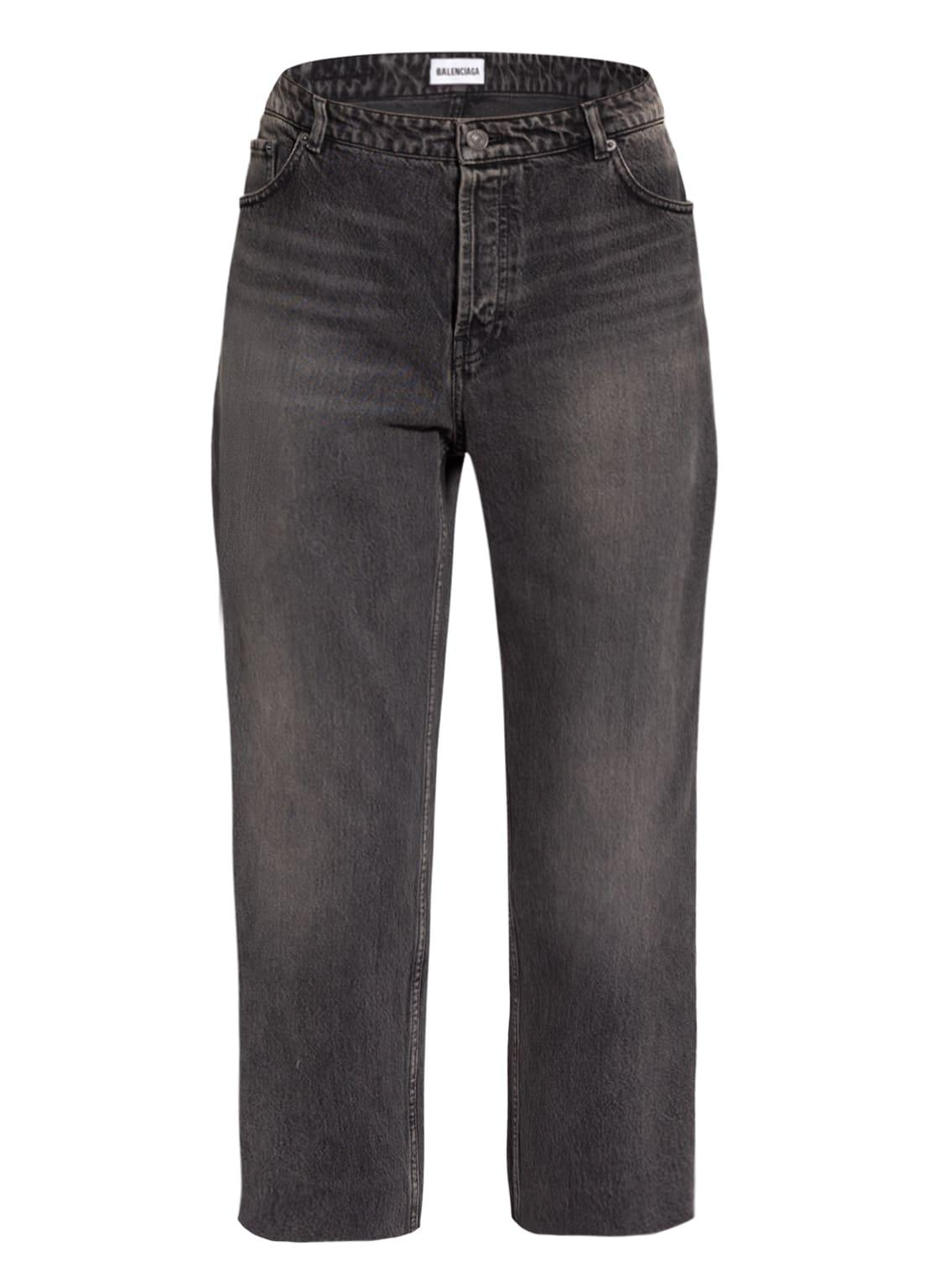Image of Balenciaga 7/8-Jeans grau