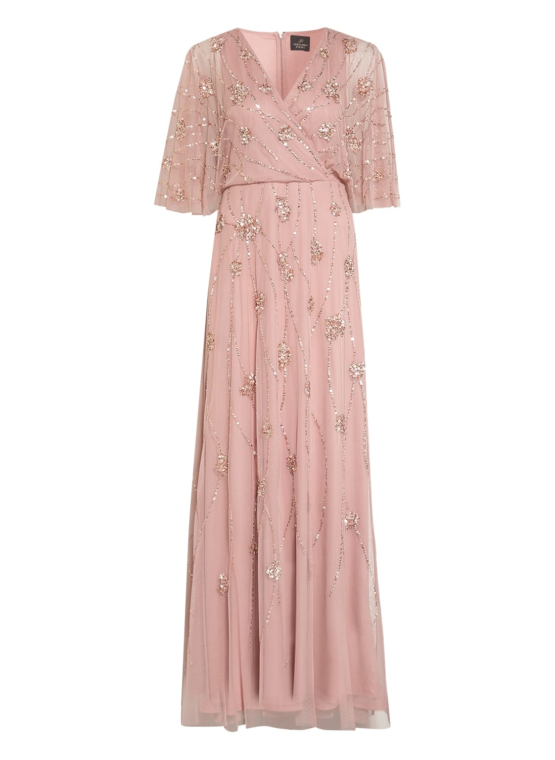 Image of Adrianna Papell Abendkleid Mit Paillettenbesatz rosa