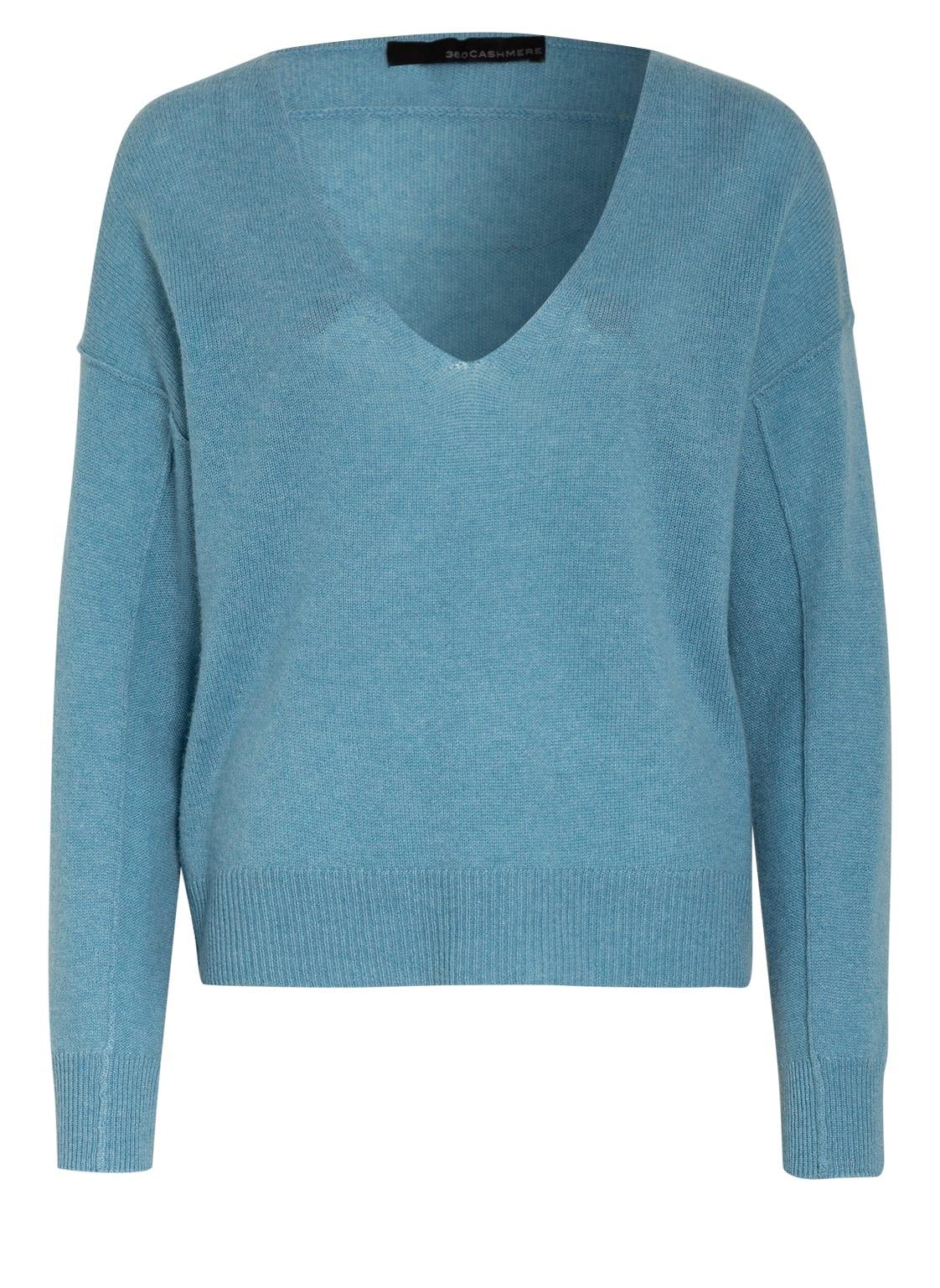 Image of 360cashmere Cashmere-Pullover blau