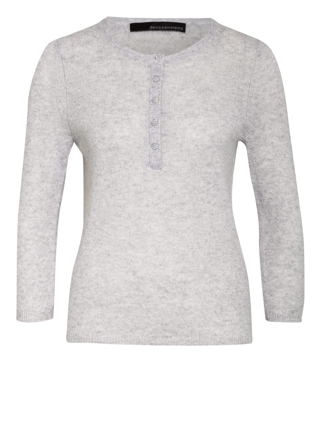 Image of 360cashmere Cashmere-Pullover grau