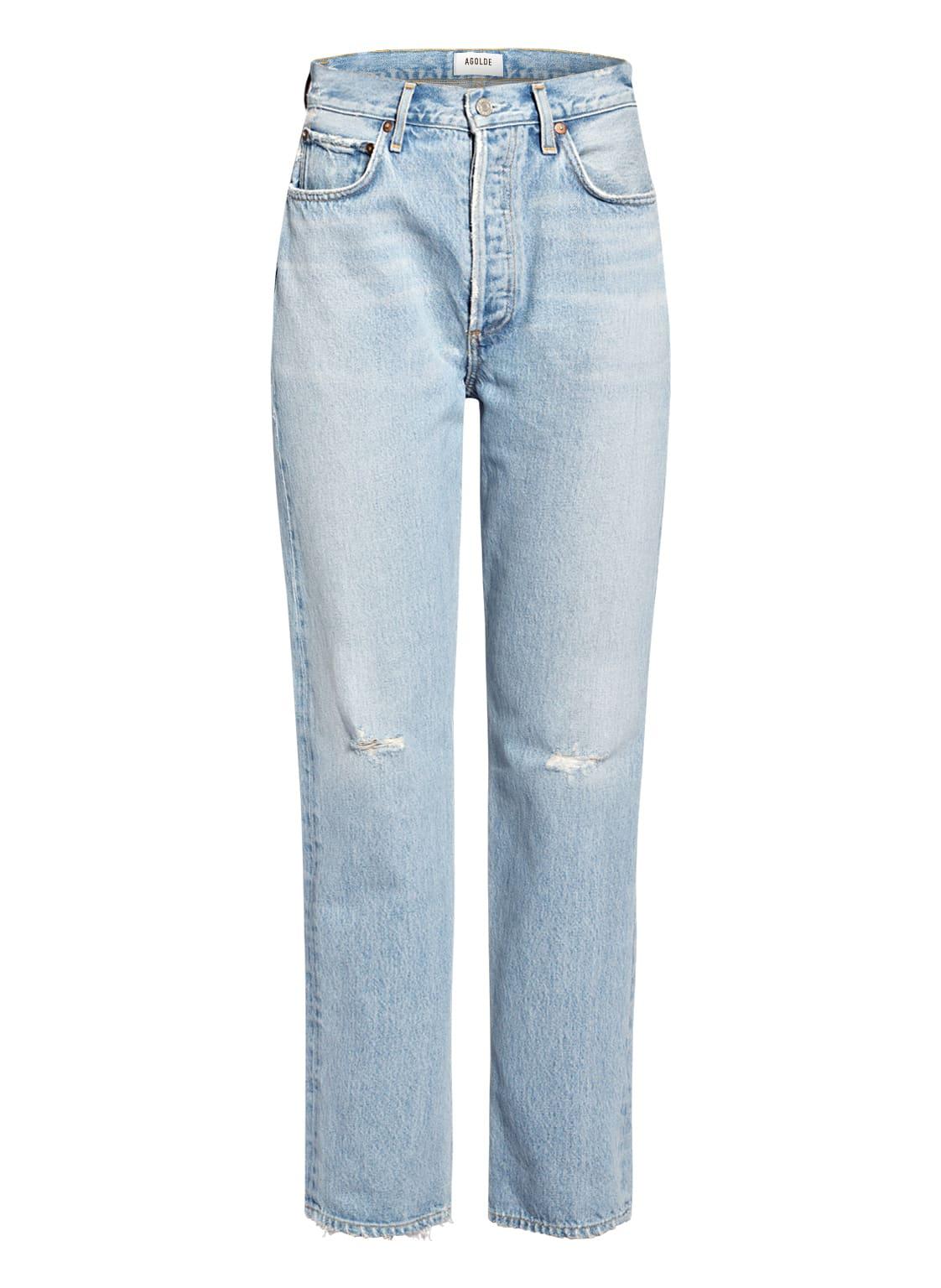 Image of Agolde Jeans Balloon blau