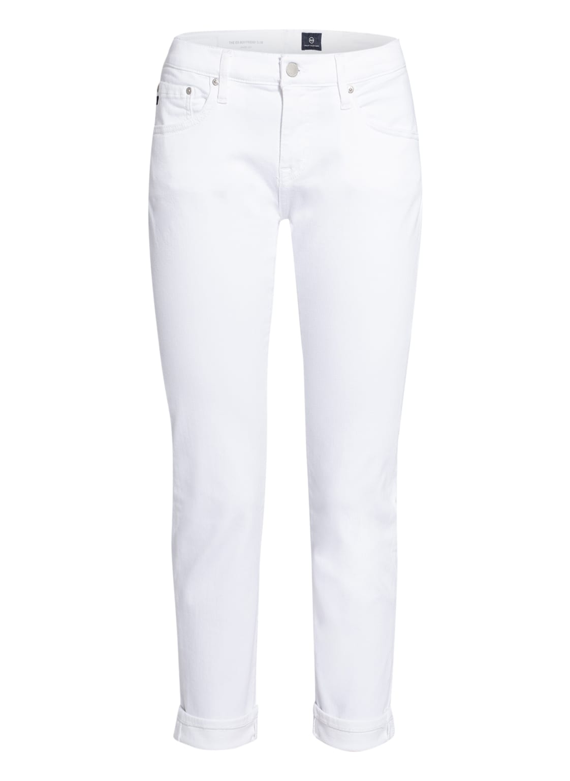 Image of Ag Jeans 7/8-Skinny Jeans The Ex-Boyfriend Slim weiss