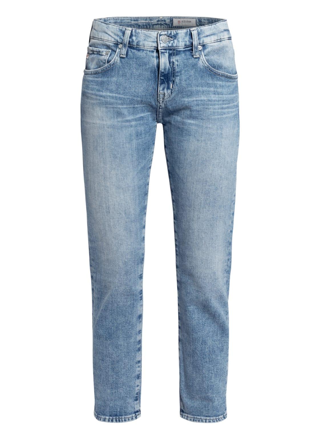 Image of Ag Jeans 7/8-Jeans The Ex-Boyfriend blau