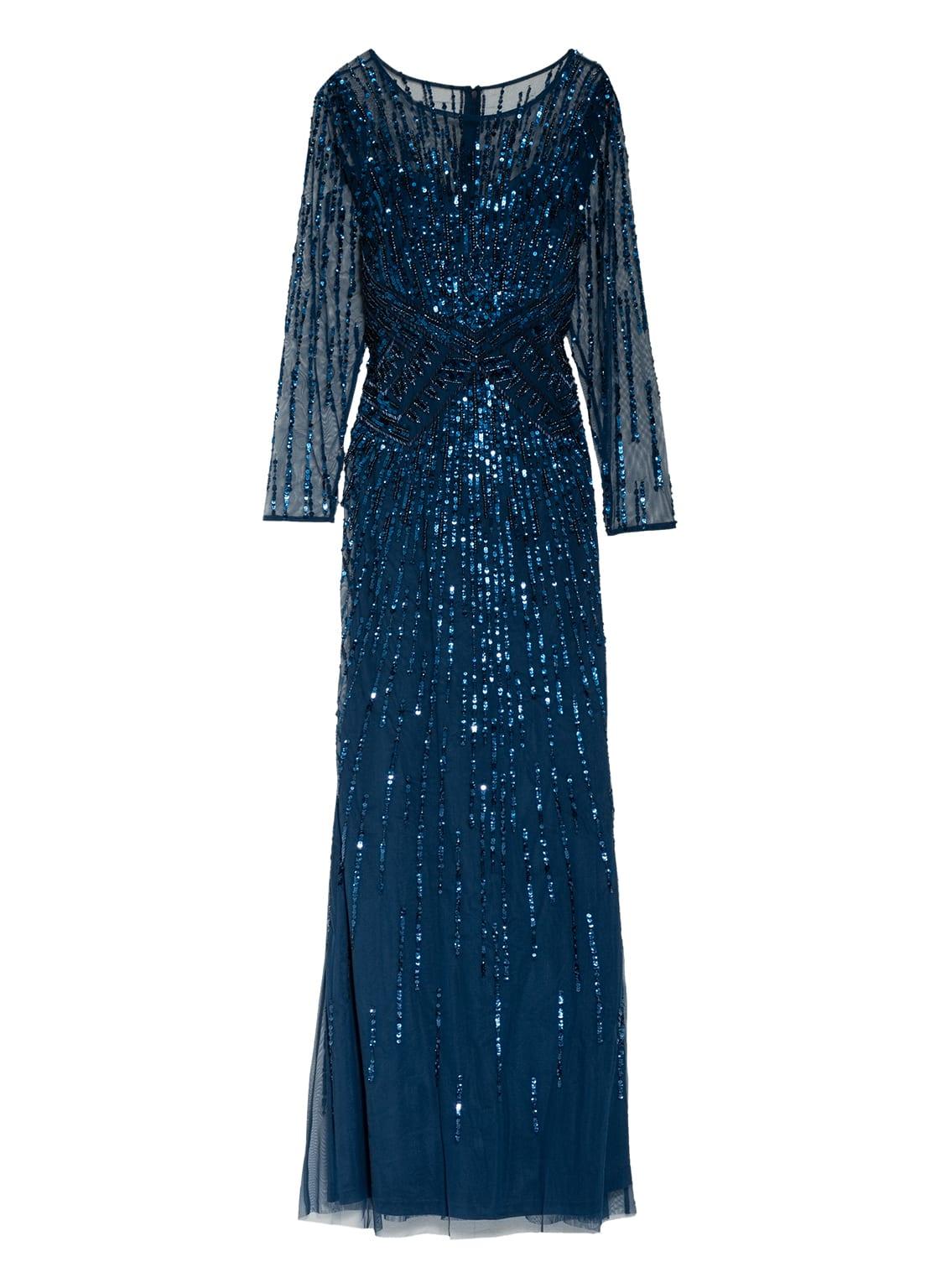 Image of Adrianna Papell Abendkleid Mit Schmucksteinbesatz blau