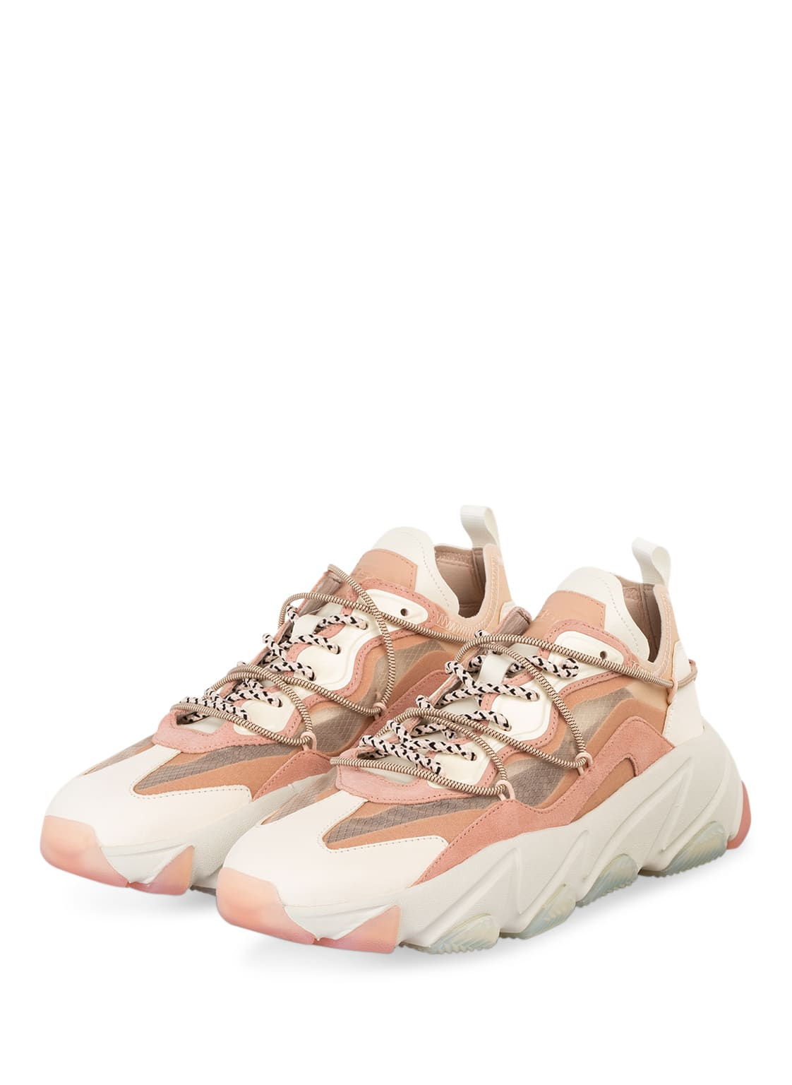 Image of Ash Plateau-Sneaker Extrabis rosa