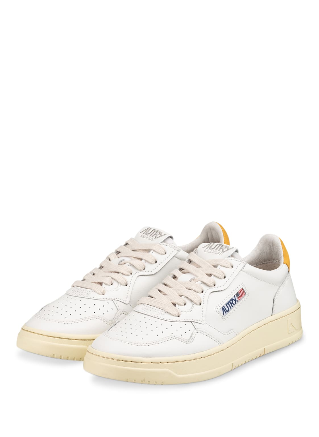 Image of Autry Plateau-Sneaker weiss