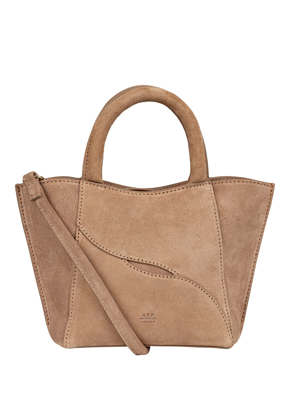 Image of Atp Atelier Micro-Bag Leuca beige