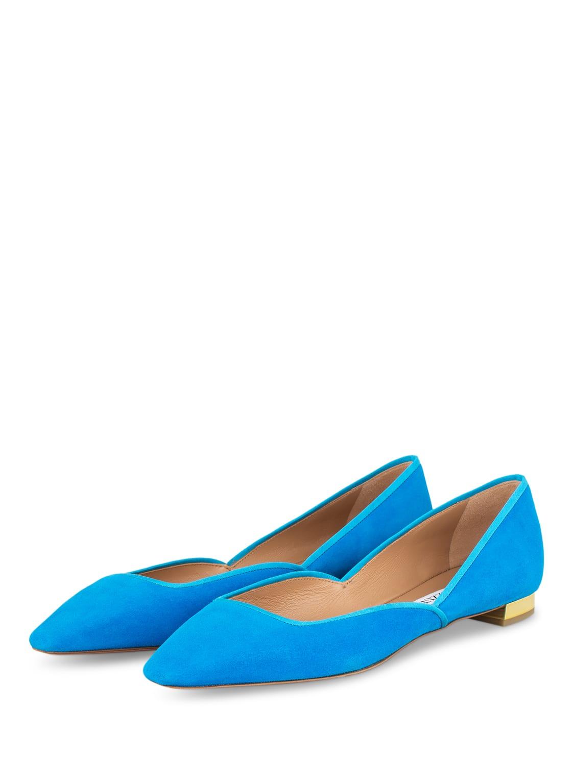 Image of Aquazzura Ballerinas Maia blau