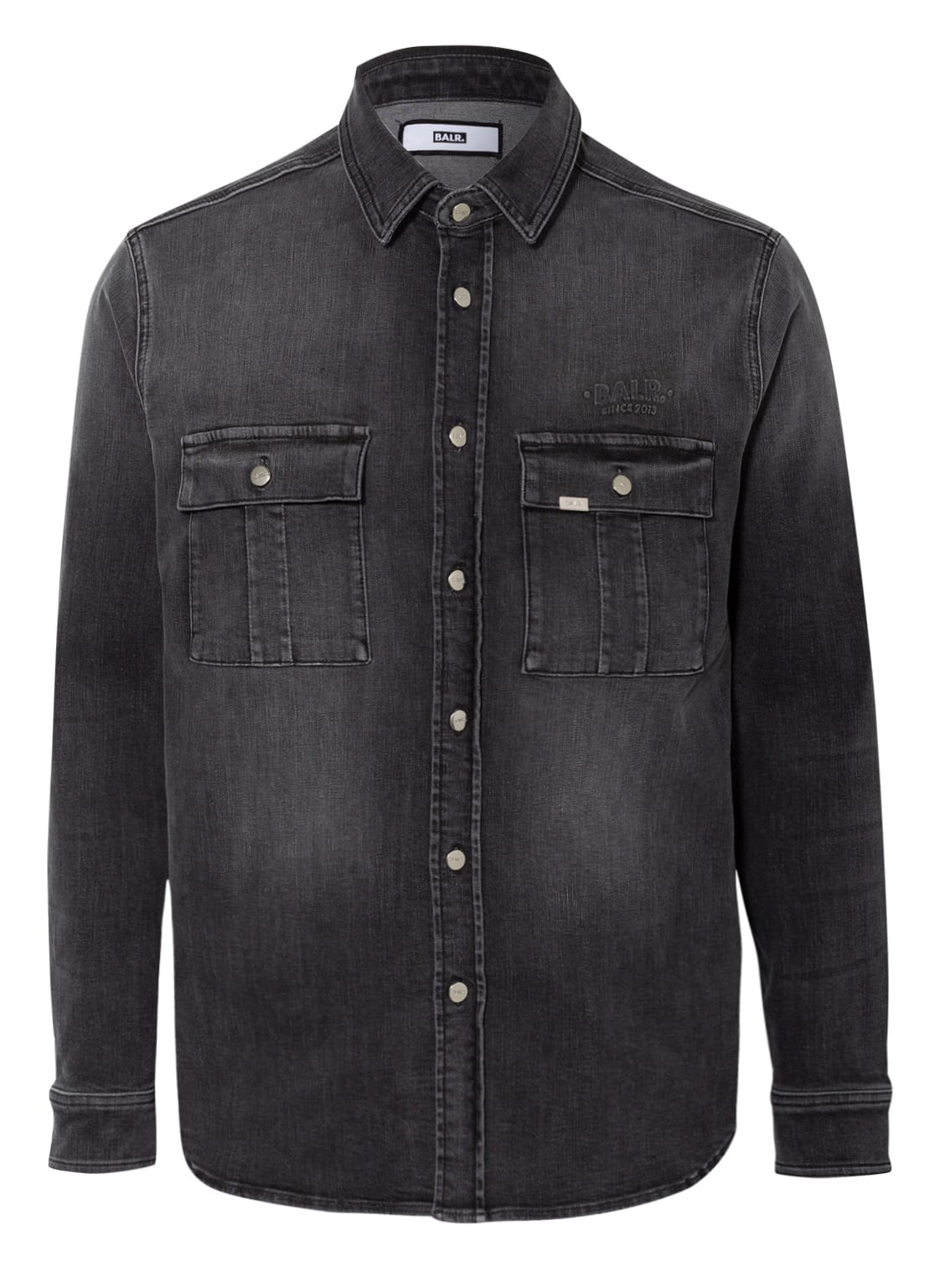 Image of Balr. Jeans-Overshirt grau