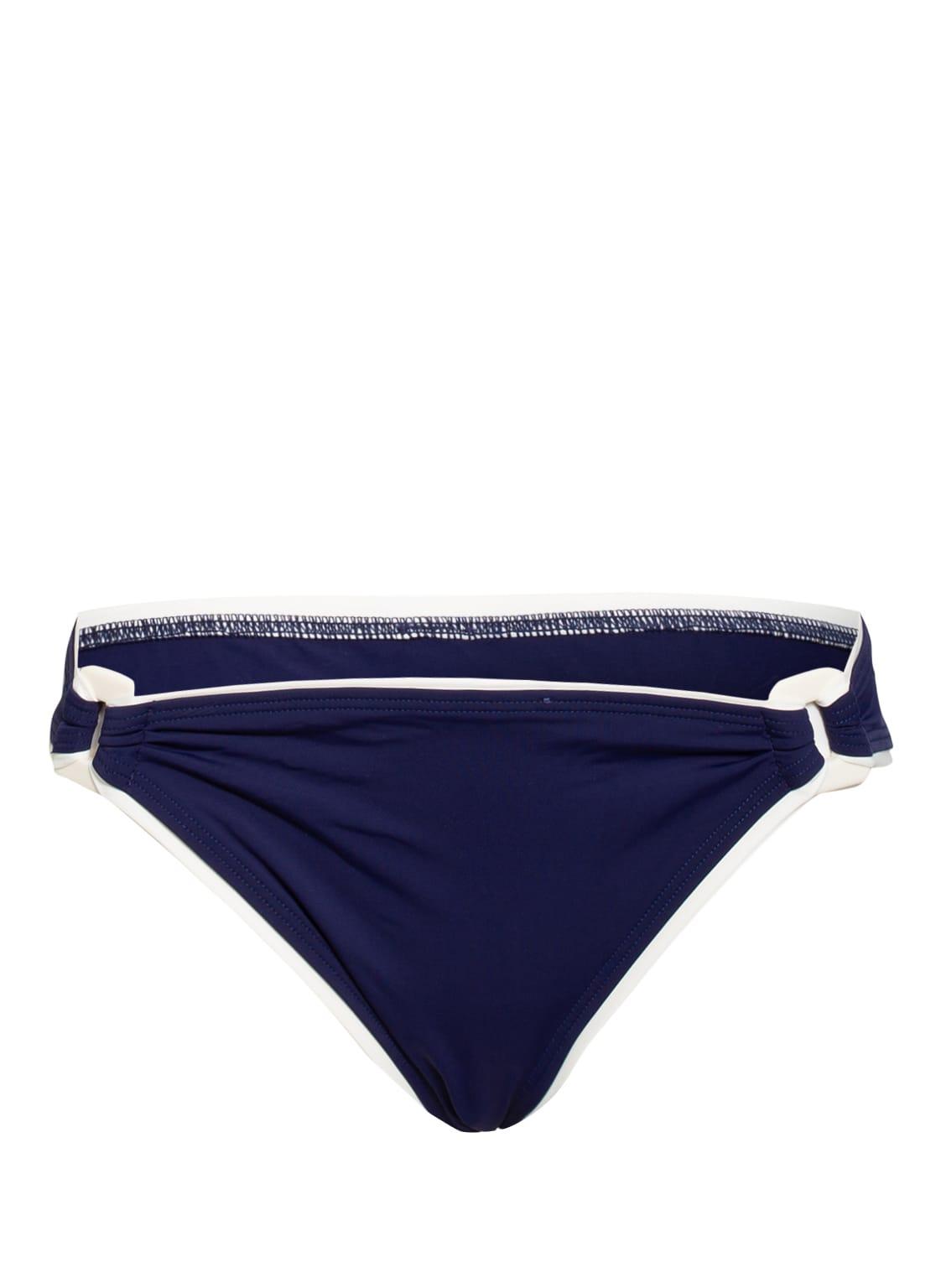 Image of Aubade Bikini-Hose La Baie Des Vagues blau