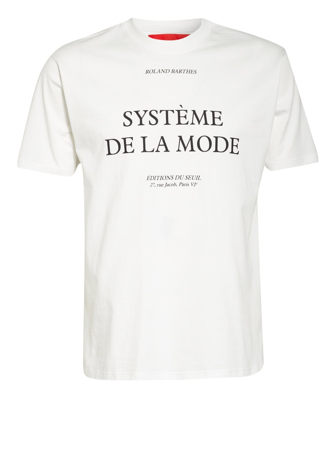 Image of 032c T-Shirt Barthes weiss