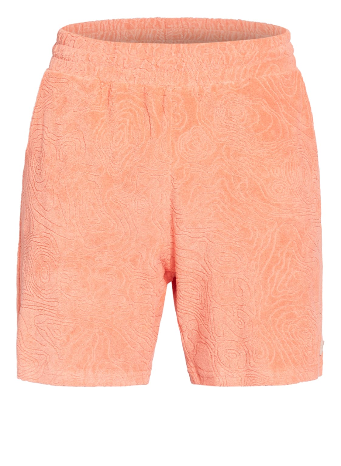 Image of 032c Frottee-Shorts Topos orange