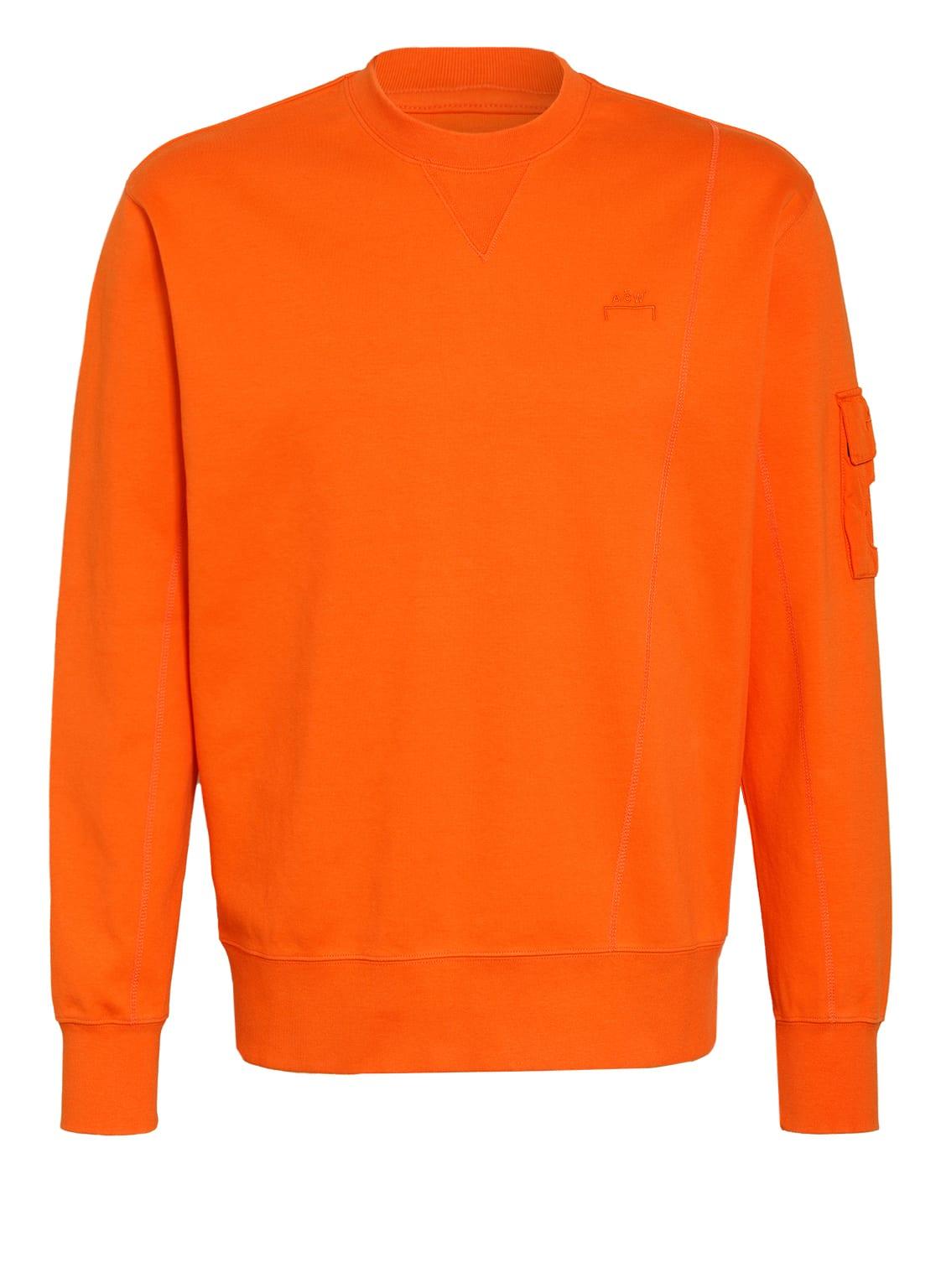 Image of A-Cold-Wall* Sweatshirt orange