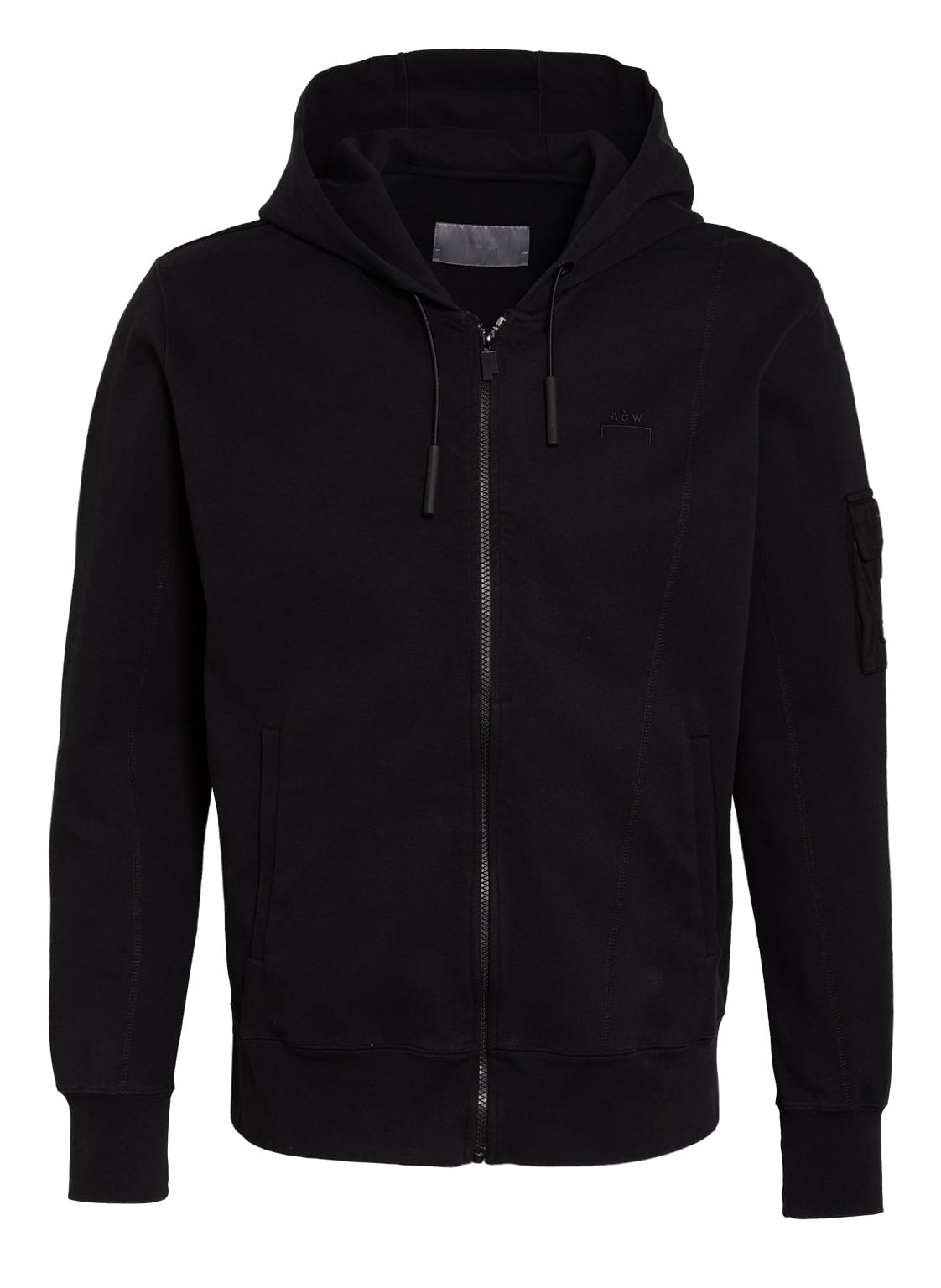 Image of A-Cold-Wall* Sweatjacke schwarz
