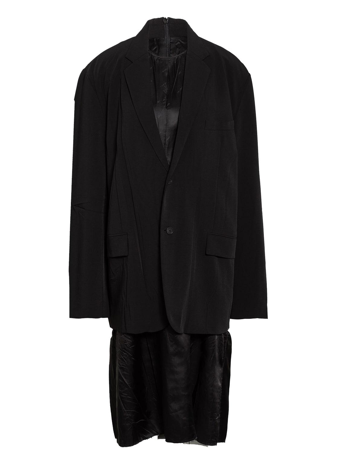 Image of Balenciaga 2-In-1-Kleid schwarz