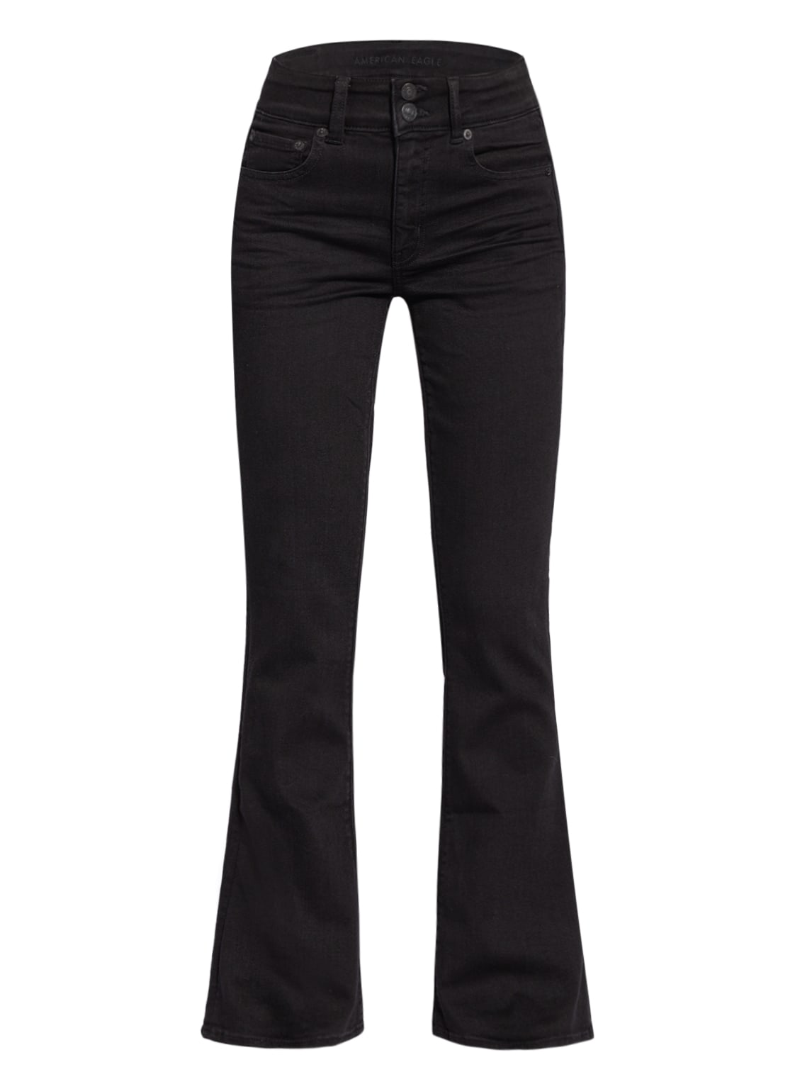 Image of American Eagle Bootcut Jeans schwarz