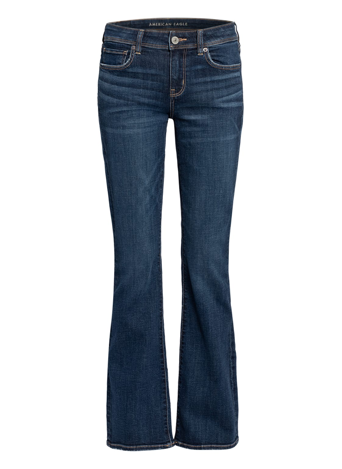 Image of American Eagle Bootcut Jeans beige