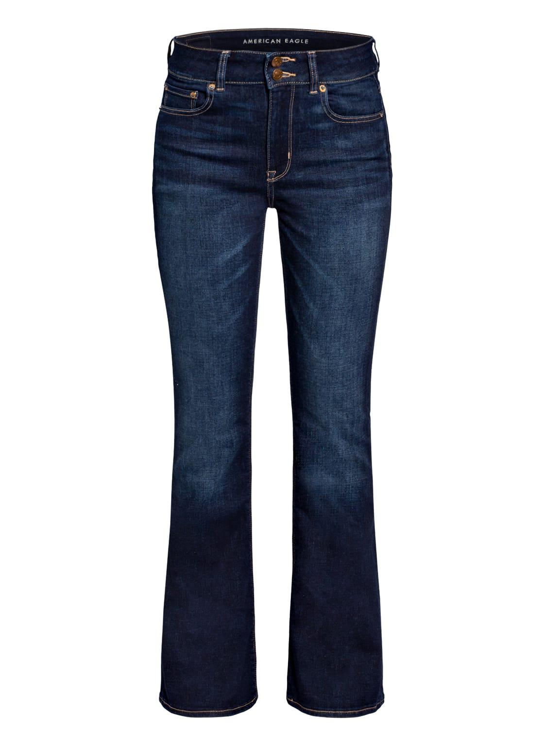 Image of American Eagle Bootcut Jeans blau