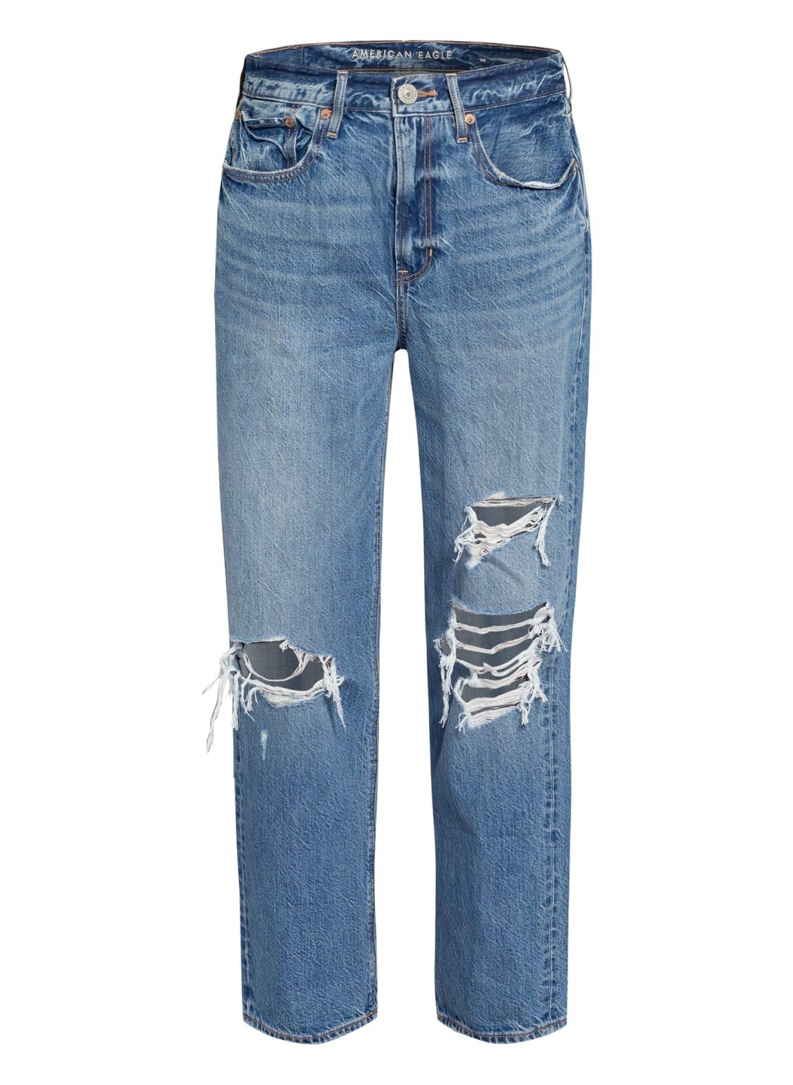 Image of American Eagle Boyfriend Jeans blau
