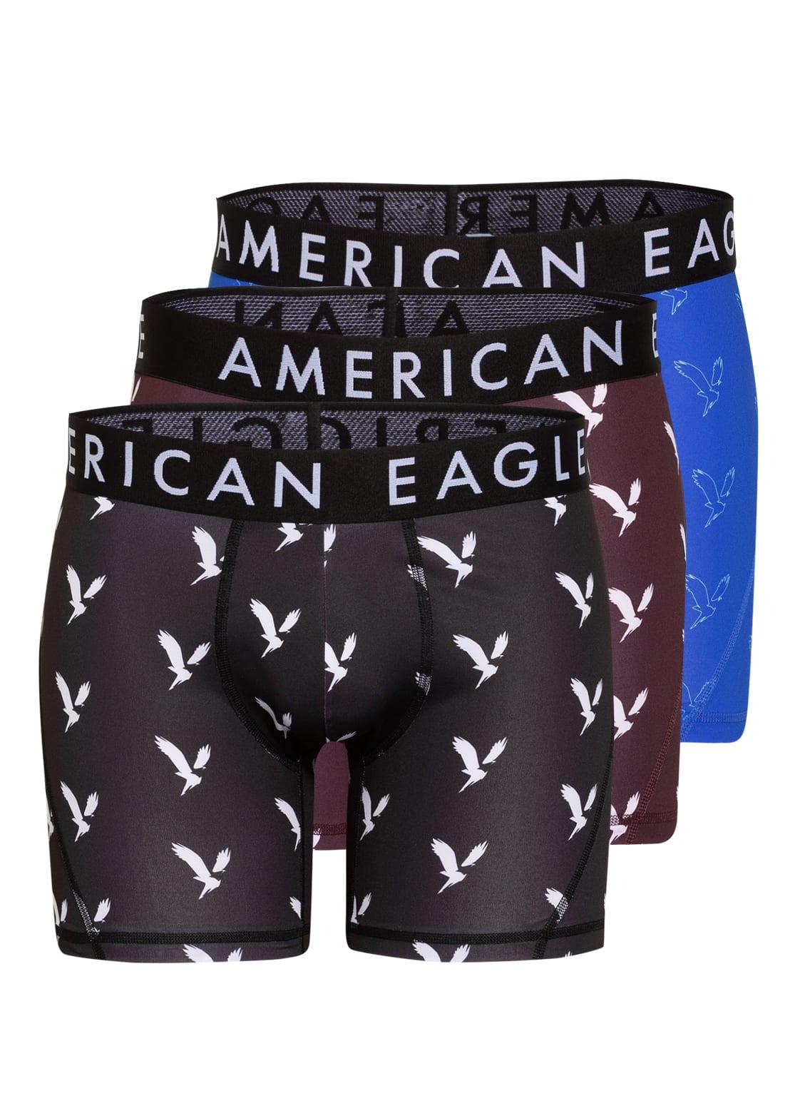 Image of American Eagle 3er-Pack Boxershorts schwarz