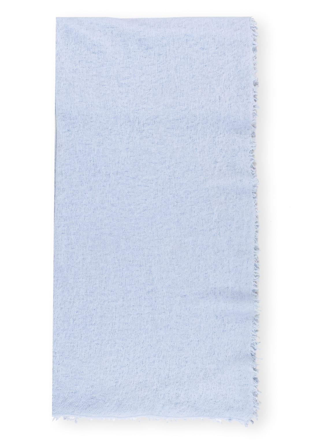 Image of Bakaree Cashmere-Schal blau