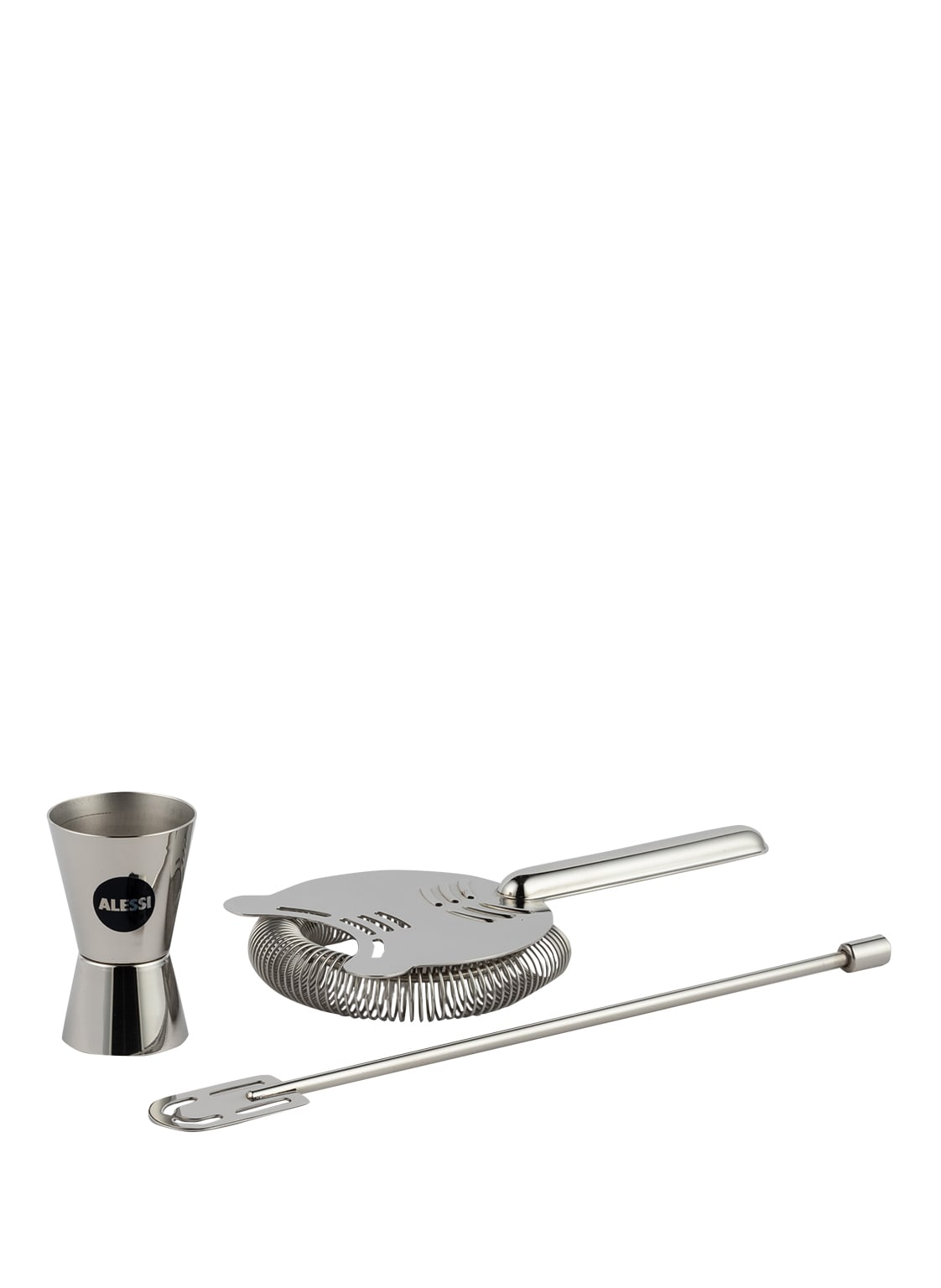Image of Alessi 3-Tlg. Bar-Set Our Roots silber